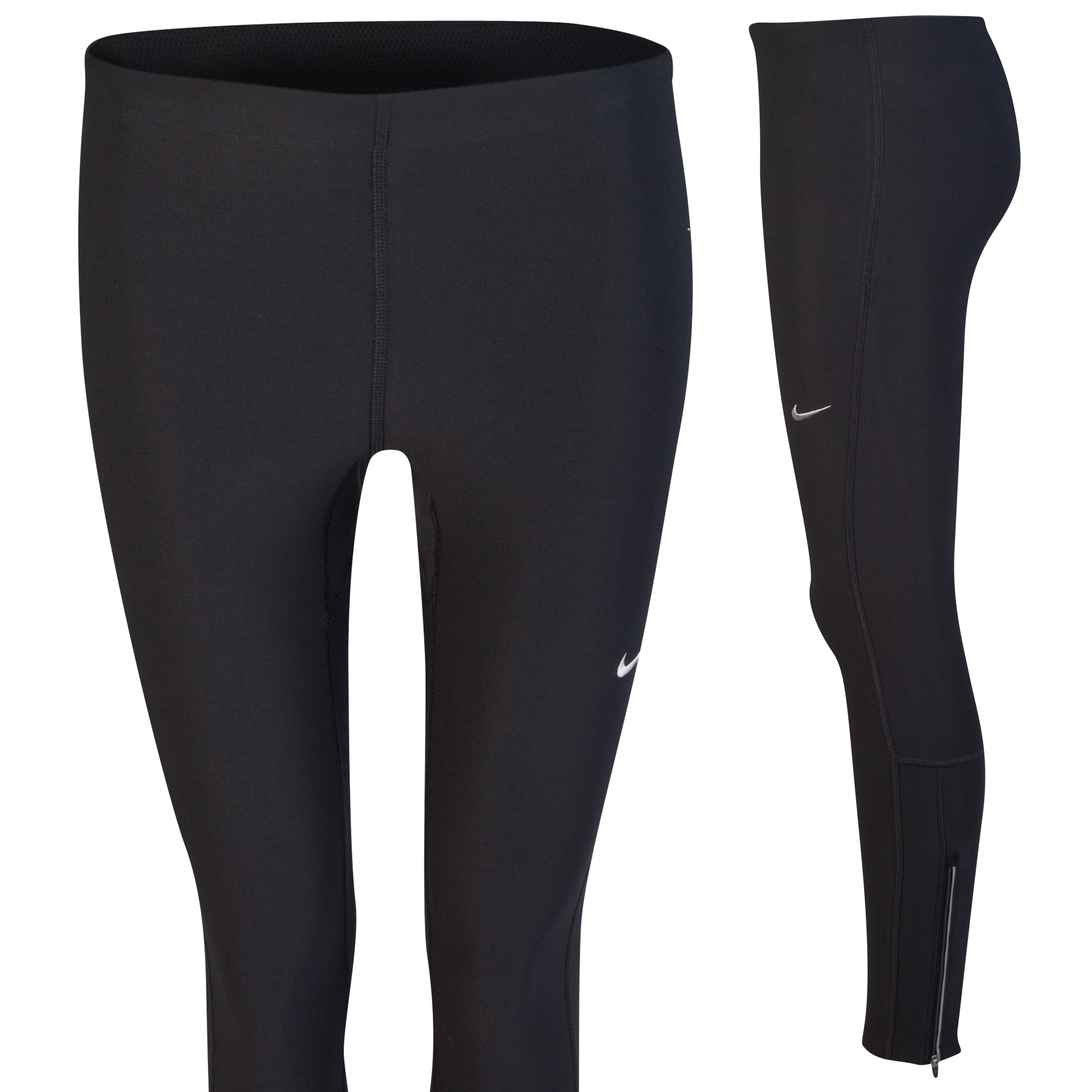 Nike Filament Tights - Black/Matte Silver