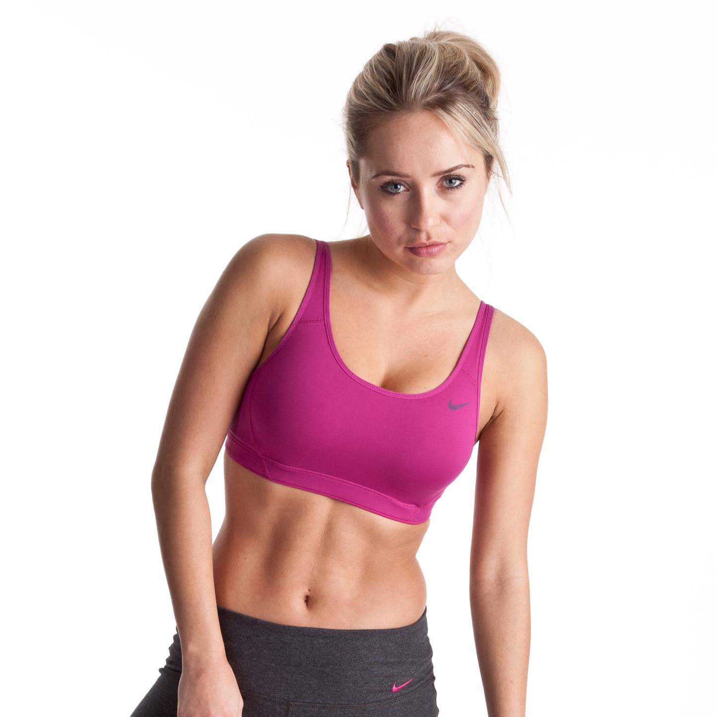 Nike Adjust U-Bra - Rave Pink/Cool Grey/Cool Grey - Womens