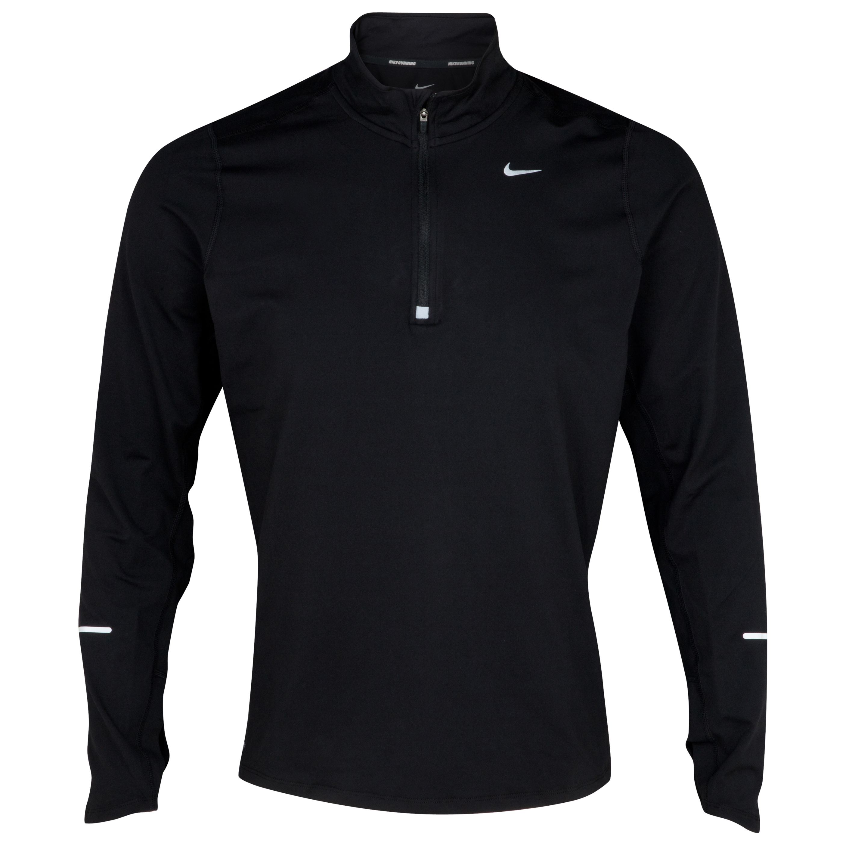 Nike Element 1/2 Zip Top - Black/Reflective Silver