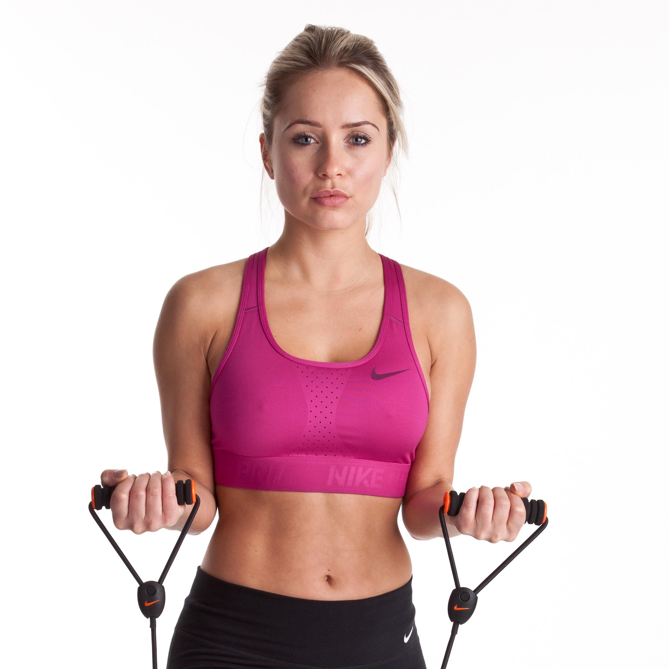 Nike Pro Hypercool Bra - Rave Pink/- Womens