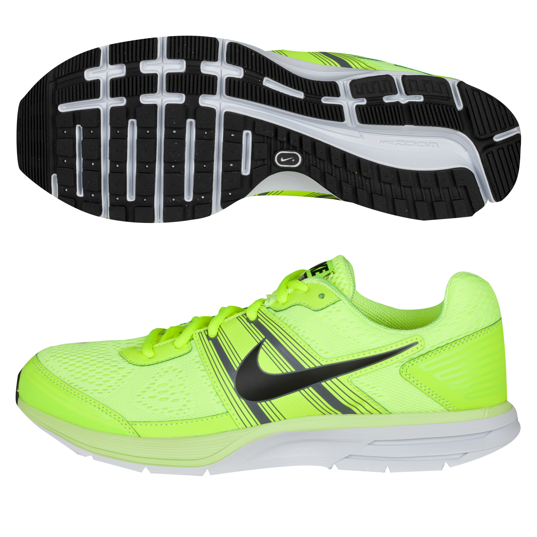 Nike Air Pegasus(+) 29 Trainers - Volt/Black/Dark Grey/Platinum