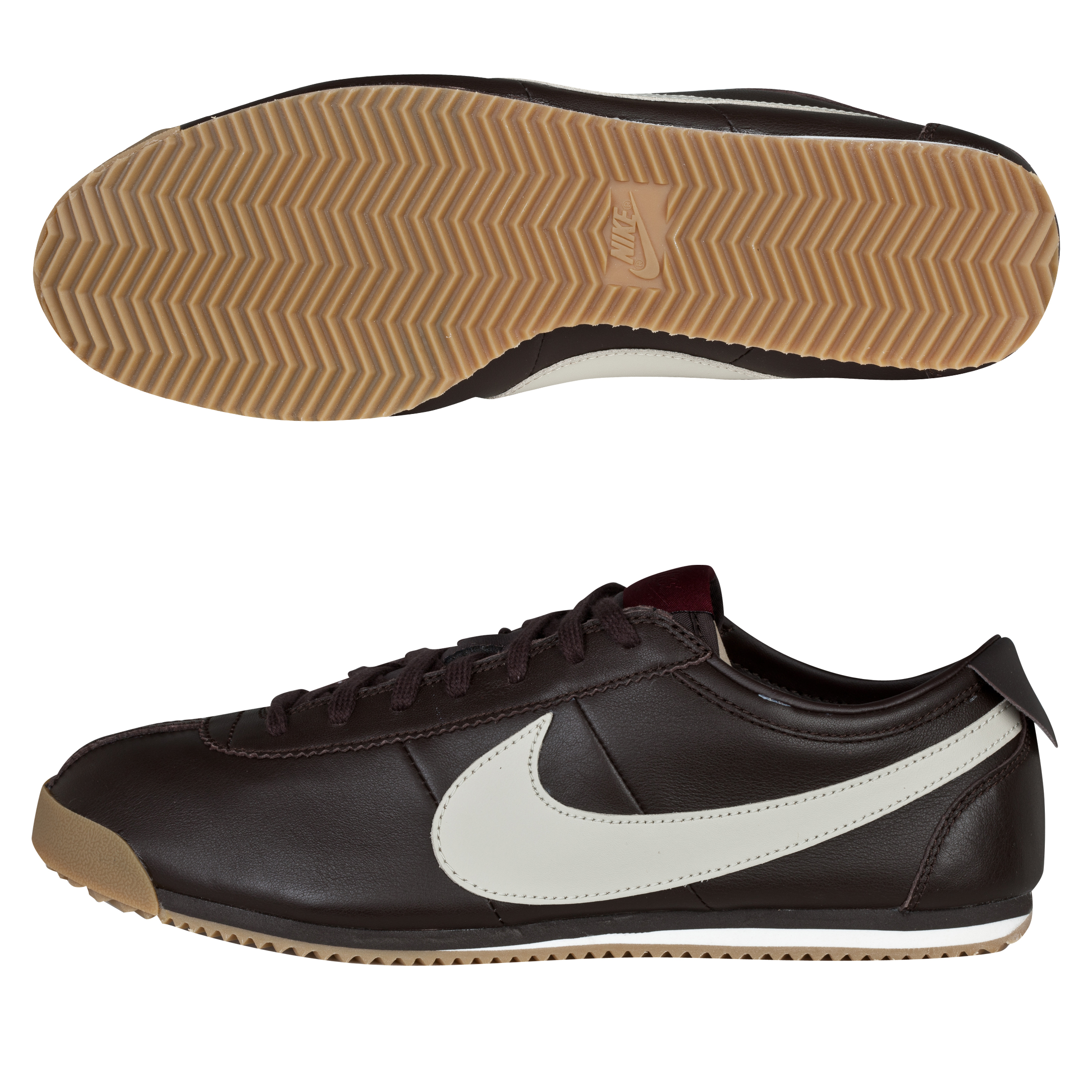 Nike Cortez Classic OG Trainers - Black Tea/Sandtrap/Dark Team Red