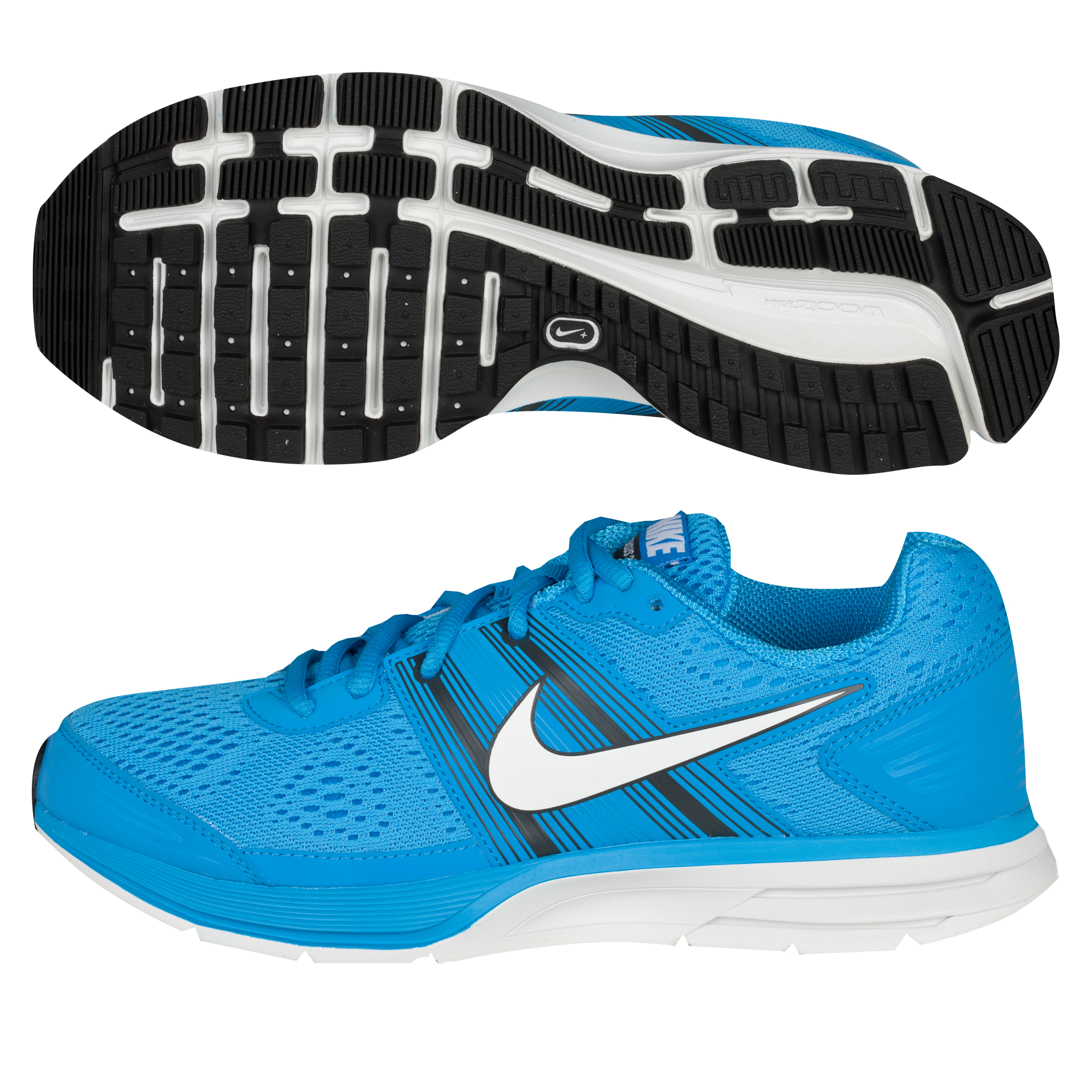 Nike Air Pegasus(+) 29 Trainers - Blue Glow/White/Anthracite - Womens