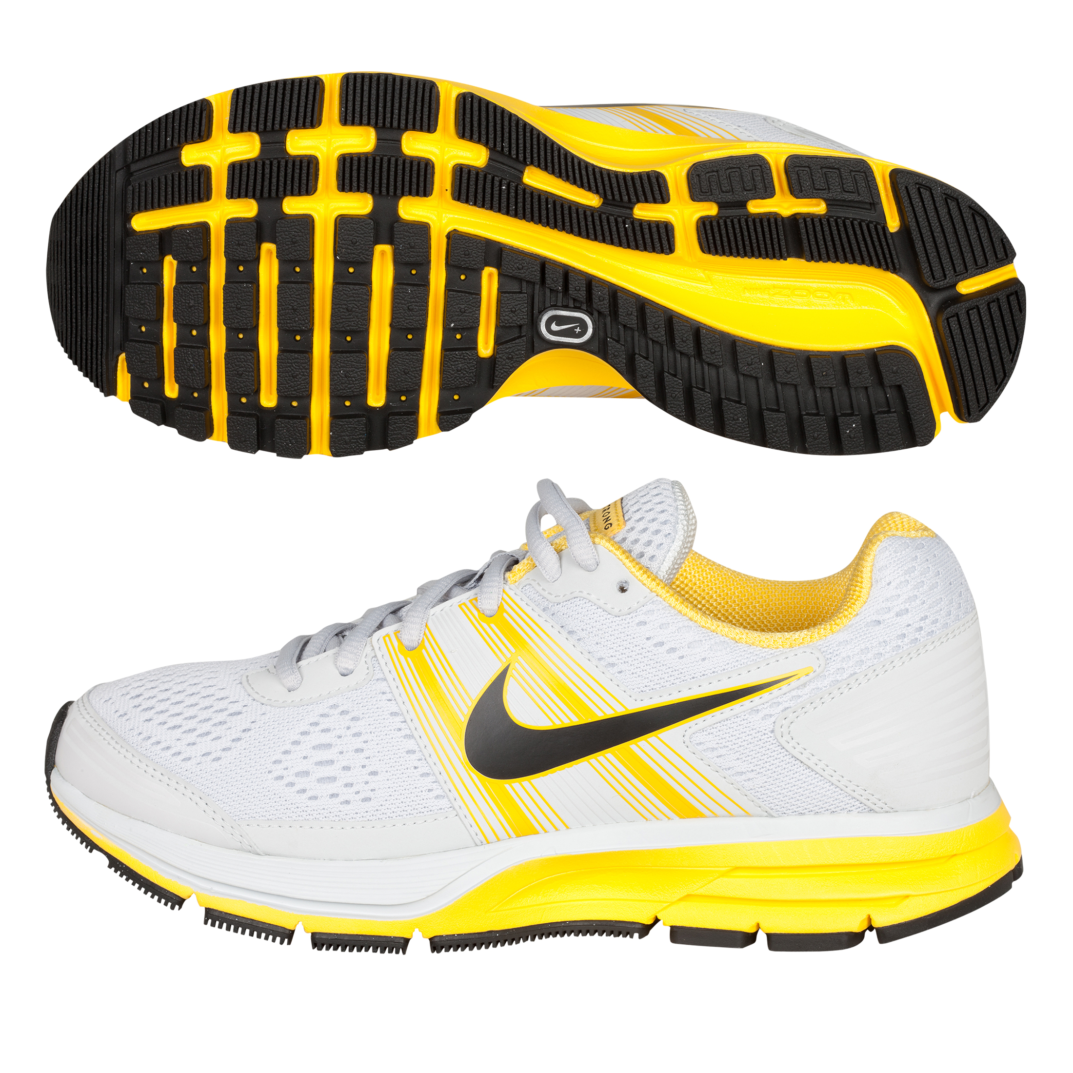 Nike Air Pegasus(+) 29 Trainers - Pure Platinum/Anthracite/Varsity Maize - Womens