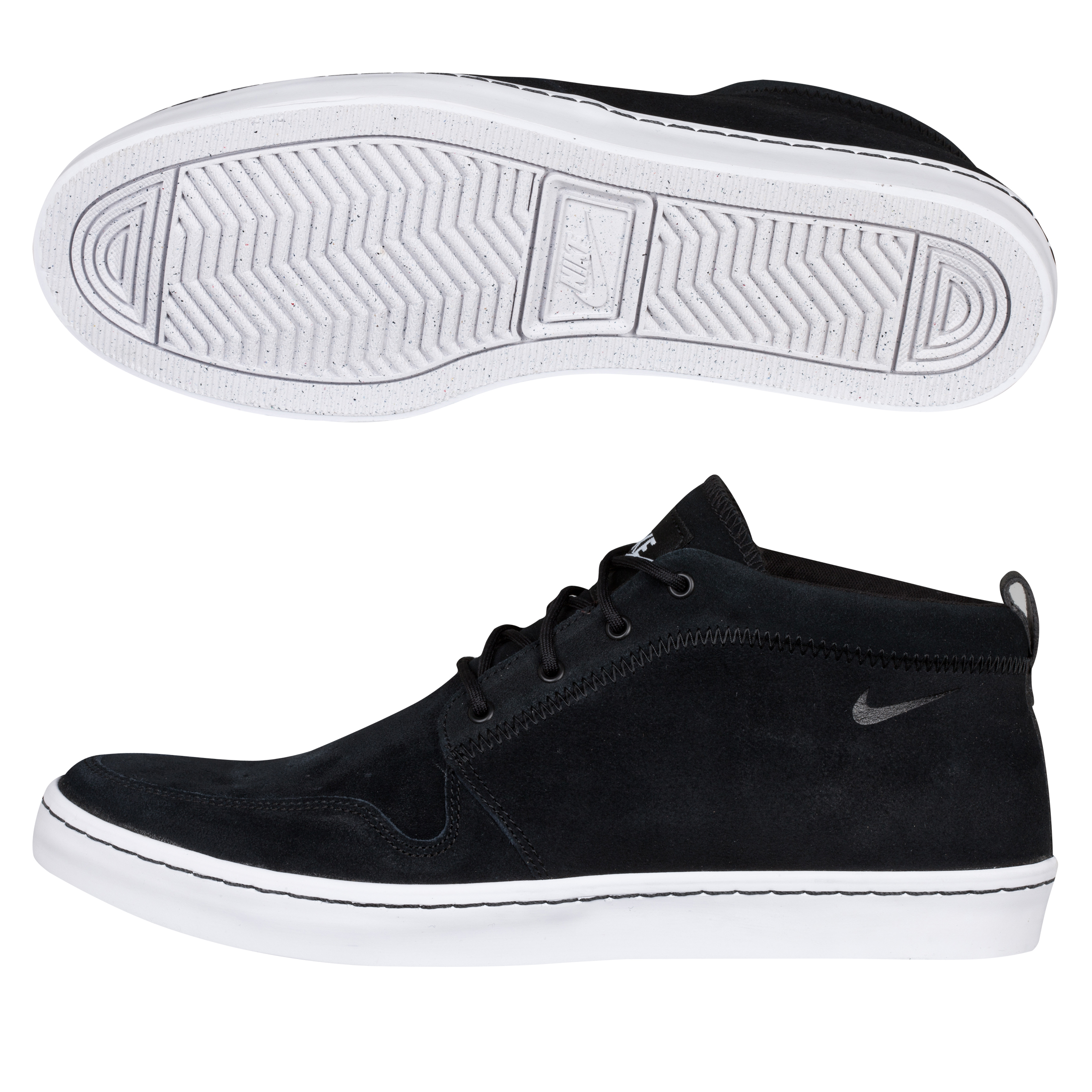 Nike Wardour Chukka Trainers - Black/White