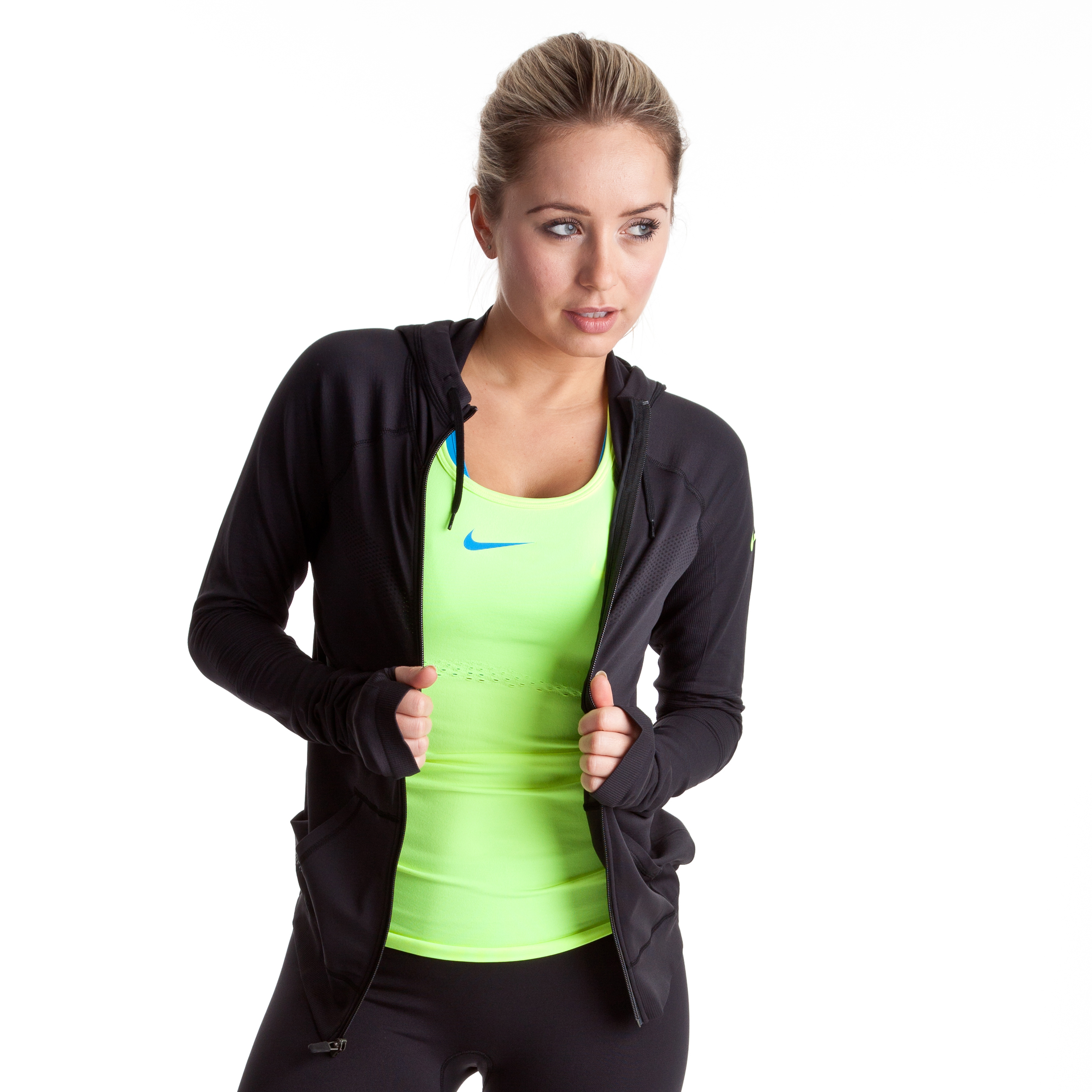 Nike Limitless Jacket - Black/Volt - Womens