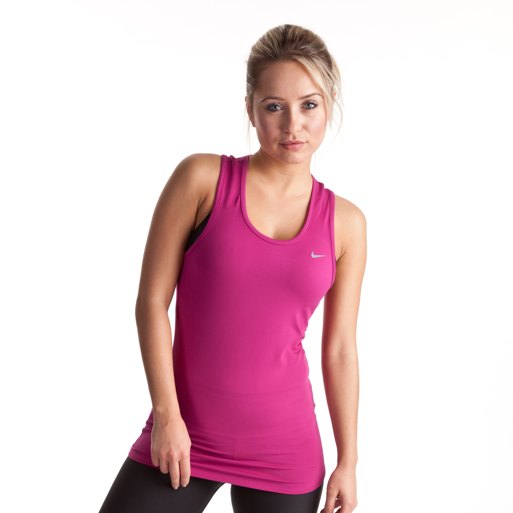 Nike Regular Club Sleeveless - Rave Pink/Cool Grey - Womens