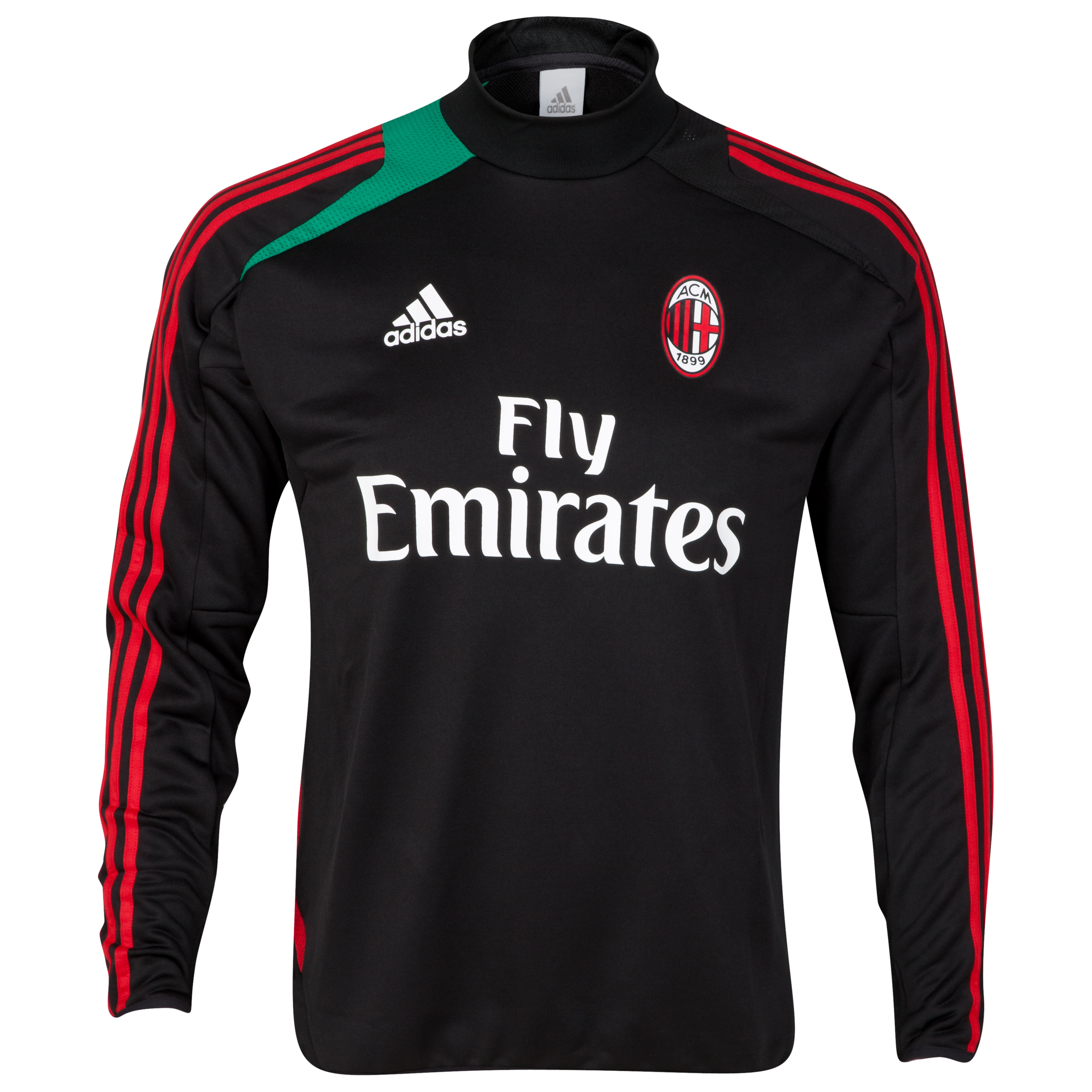AC Milan Training Top - Black
