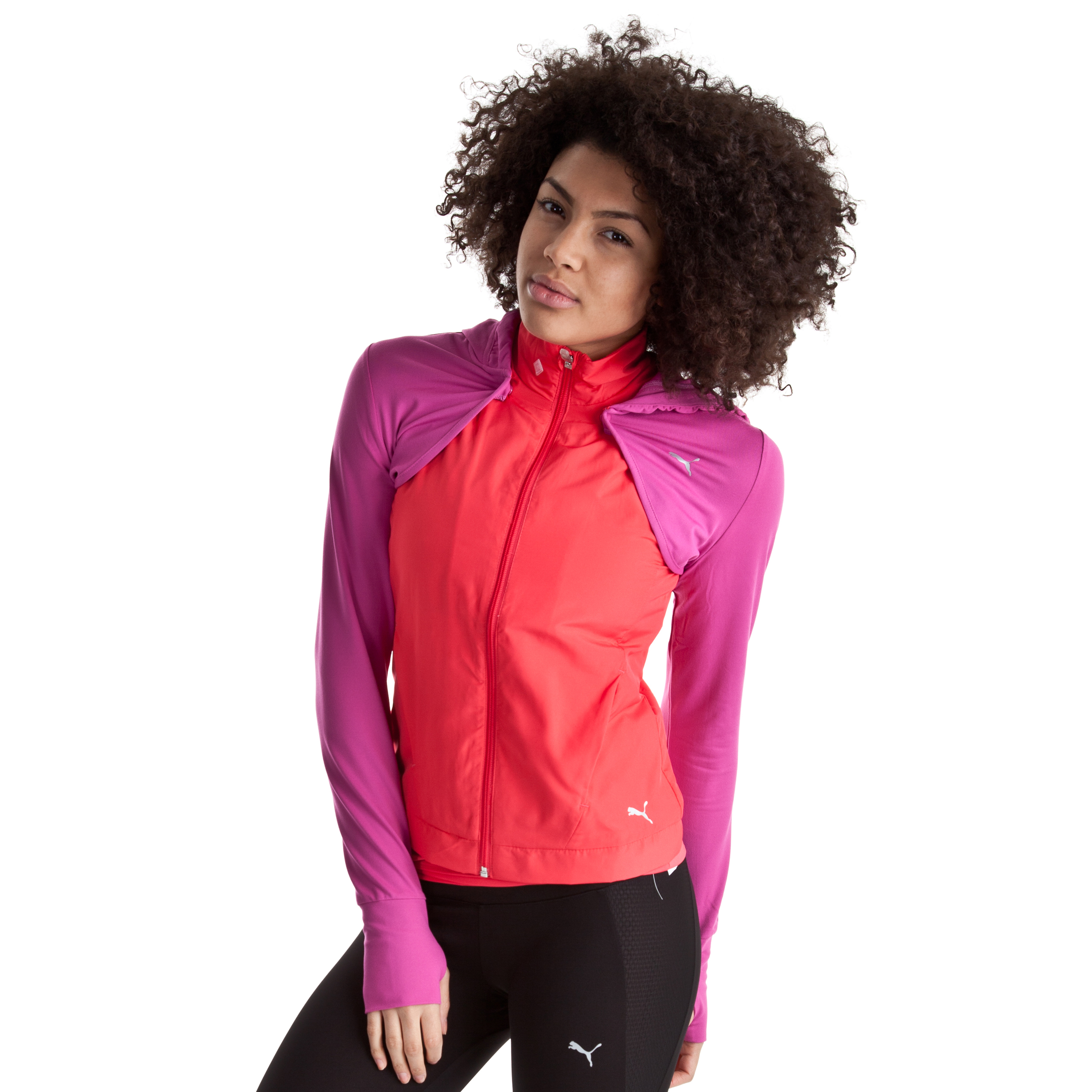 Puma Tech Performance 3 in 1 Jacket - Teaberry Red - Female