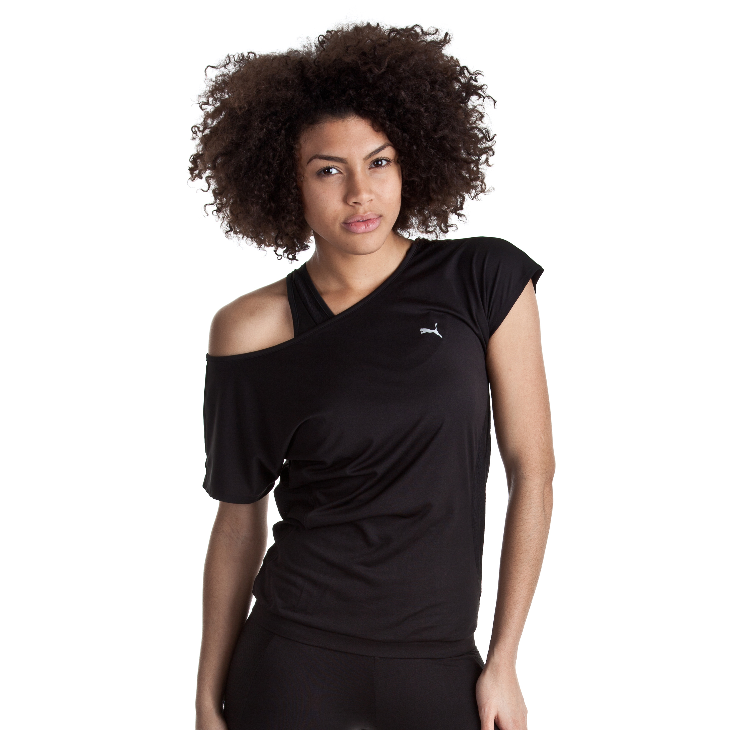 Puma Tech Performance Trend Tee - Black - Female