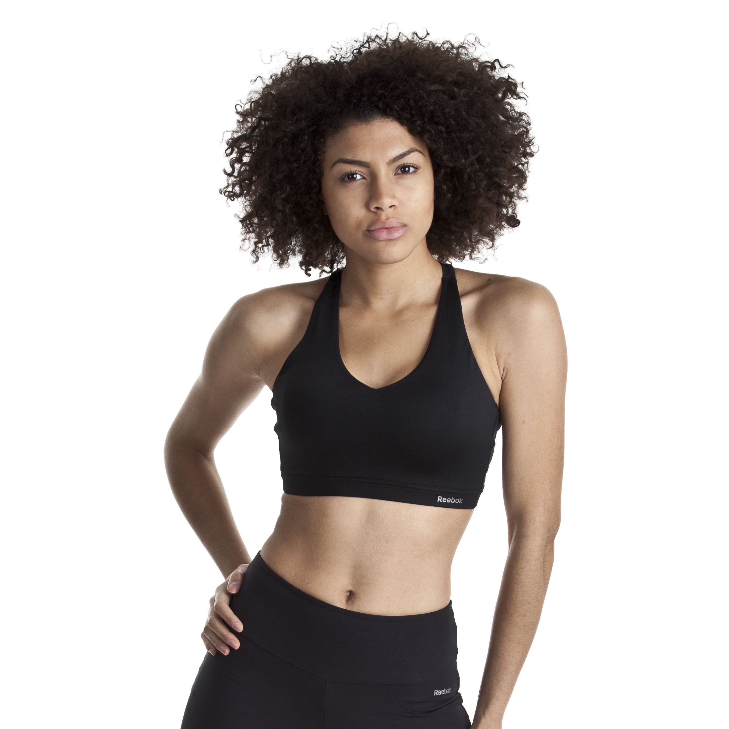 Reebok Se Short Bra Top - Black - Women