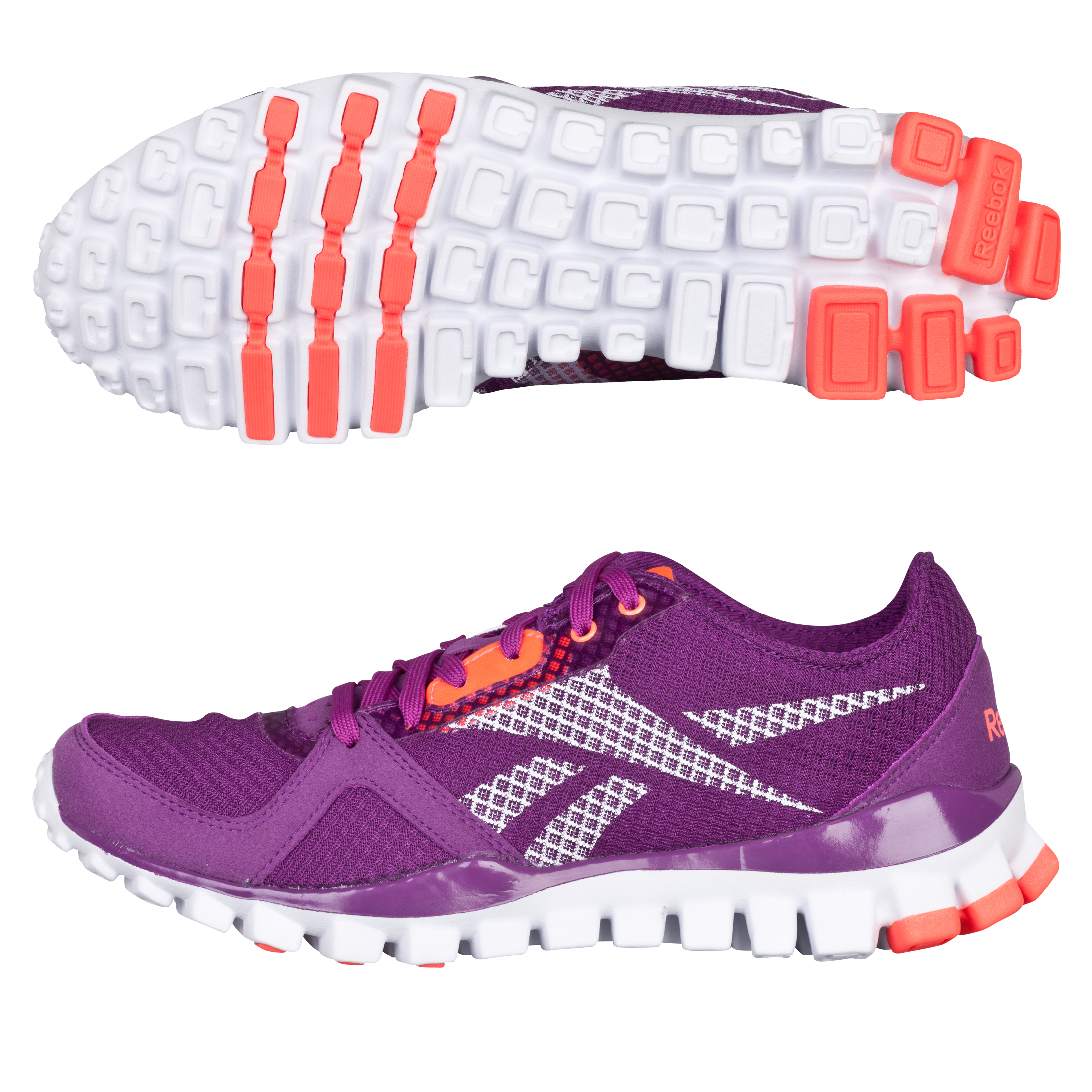 Reebok Realflex Train Athletic Trainer - Aubergine/Vit C/White - Women