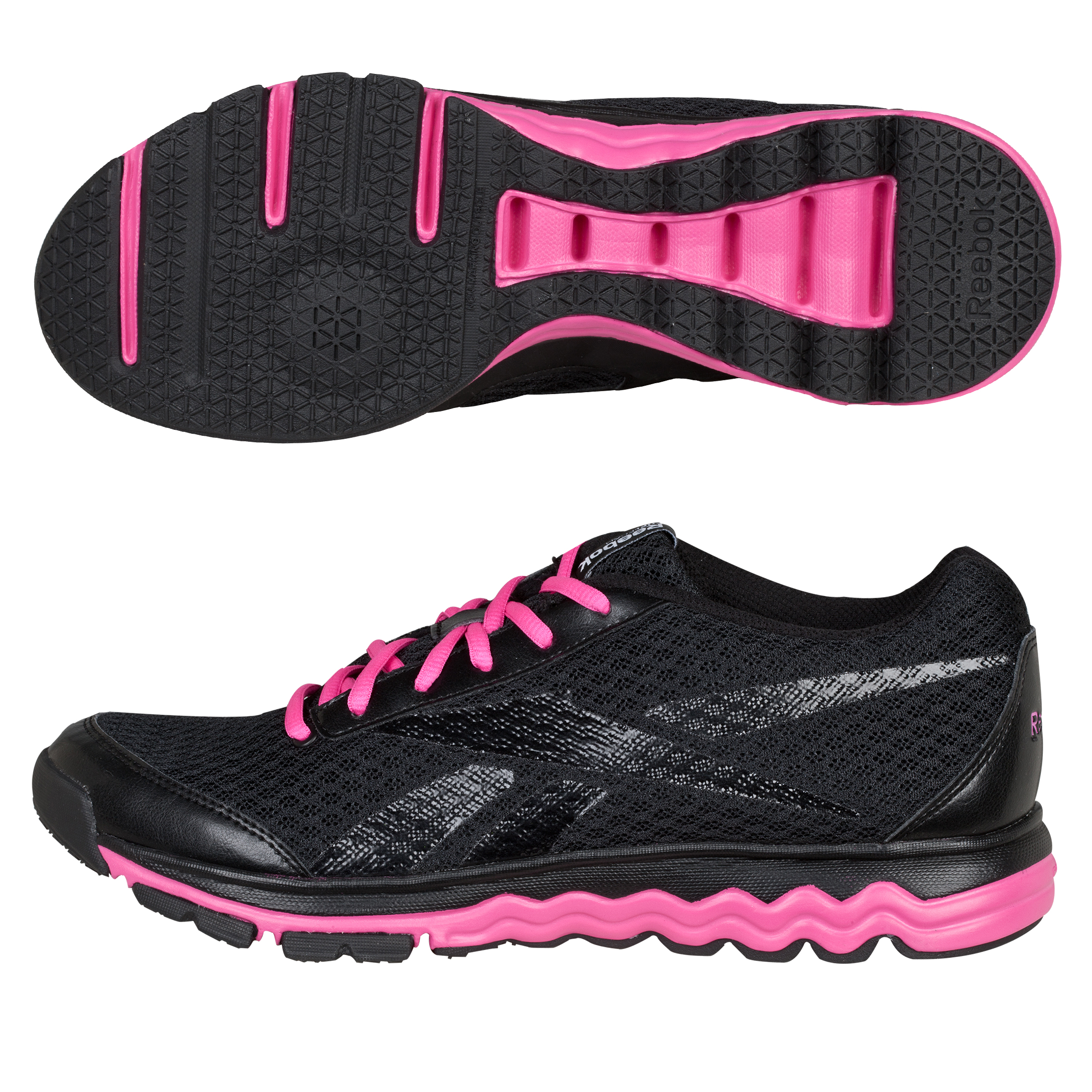 Reebok Fuel Gym Low Trainer - Black/Pink - Women