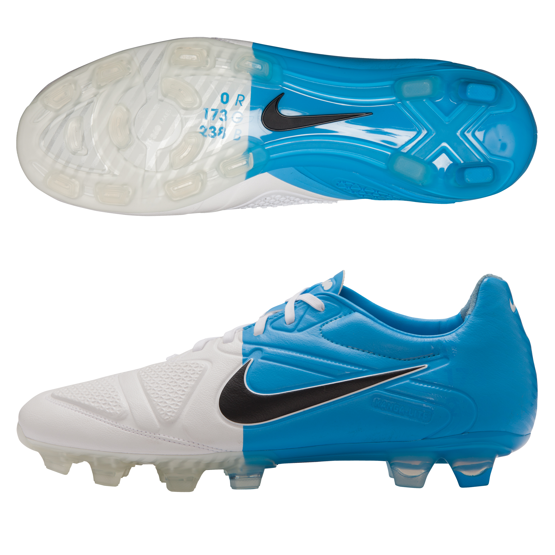 CTR360 Maestri II FG White/Black/Blue Glow