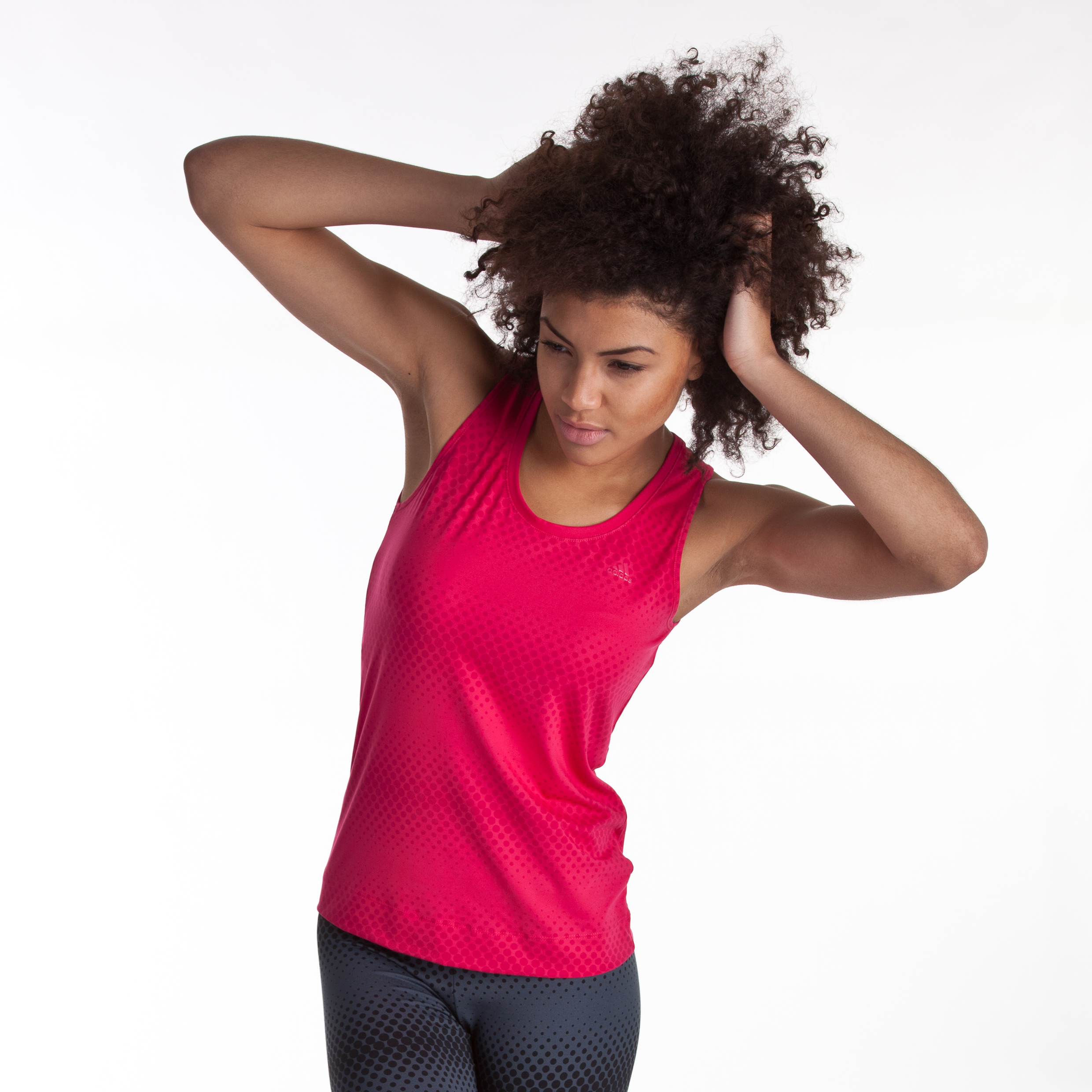 Adidas Multifunctional Essentials Allover Tank - Bright Pink - Women