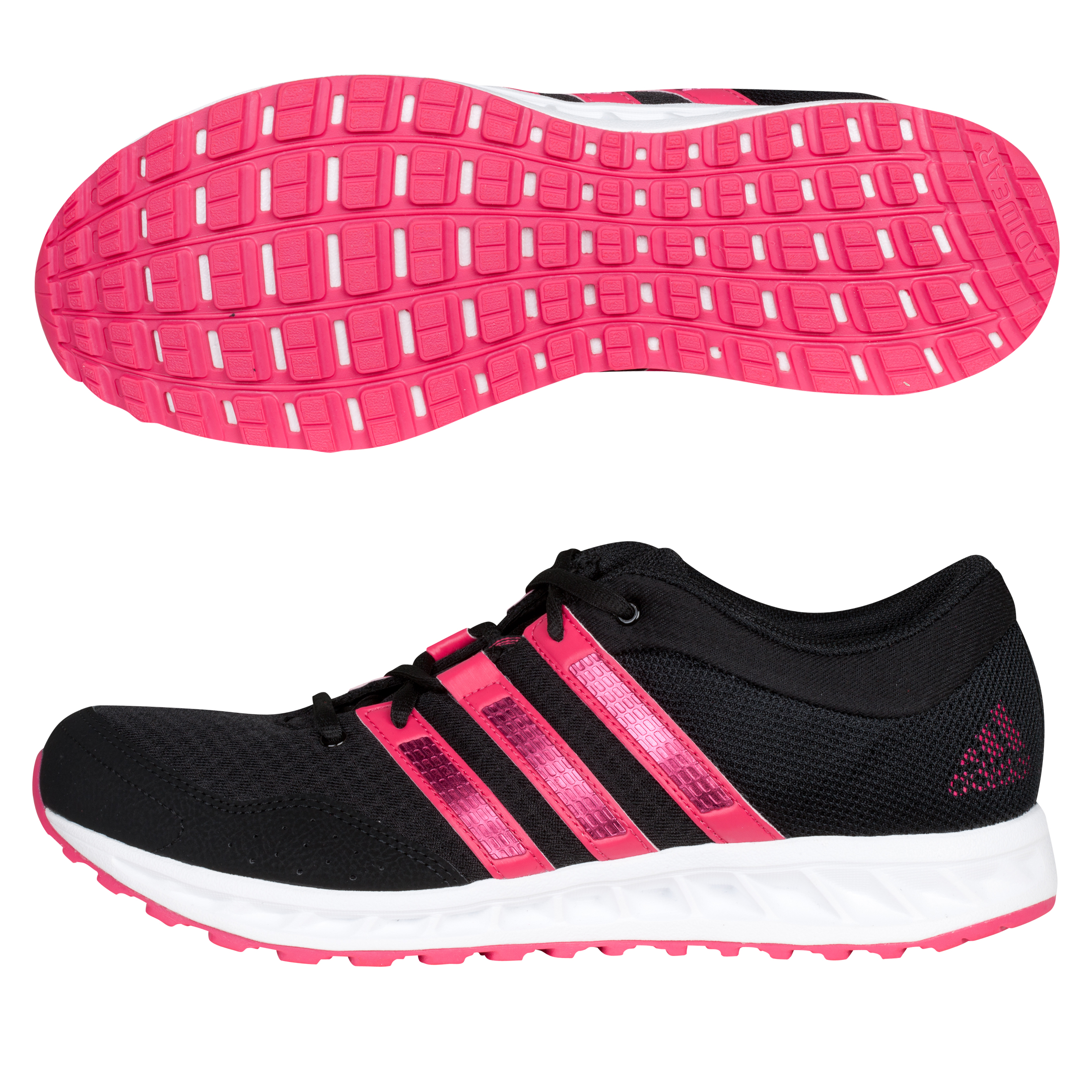 Adidas Falcon Elite 2 Running Trainers - Black/Bright Pink/Running White - Womens