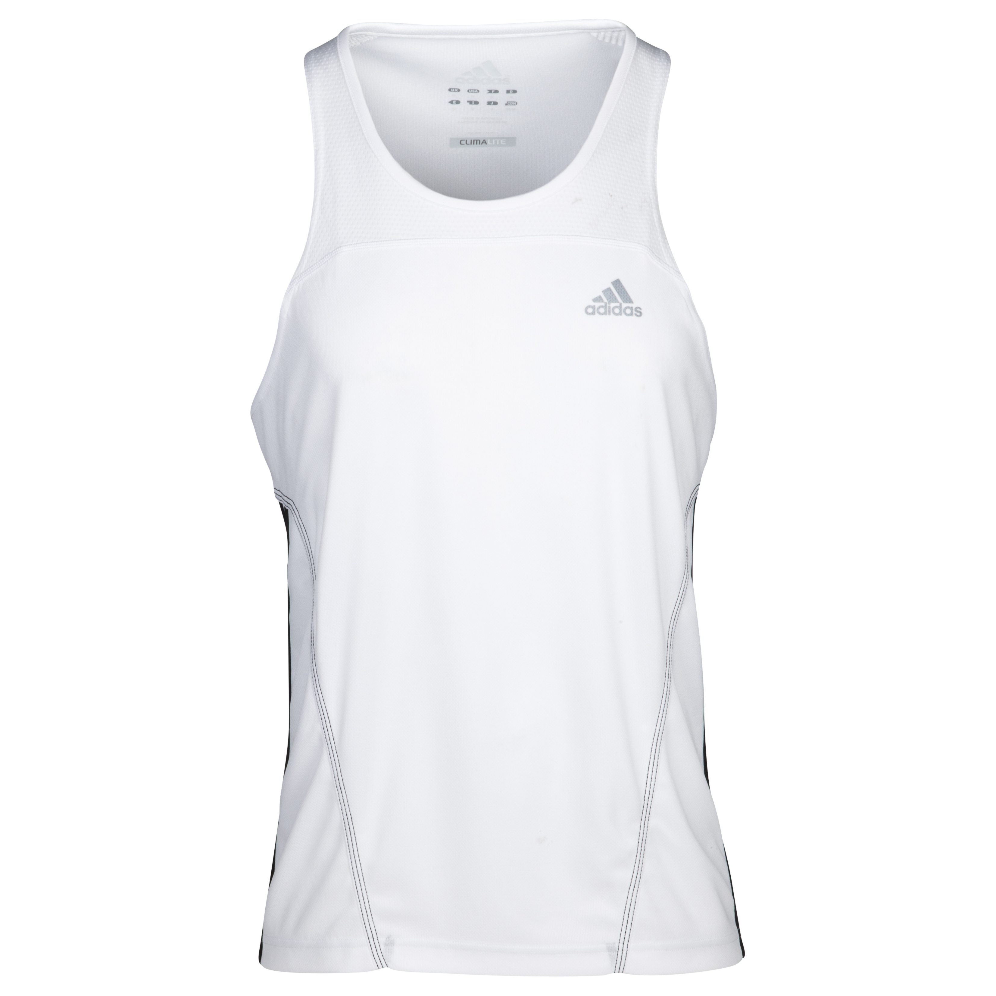 Adidas Response DS Singlet Vest - White/Black