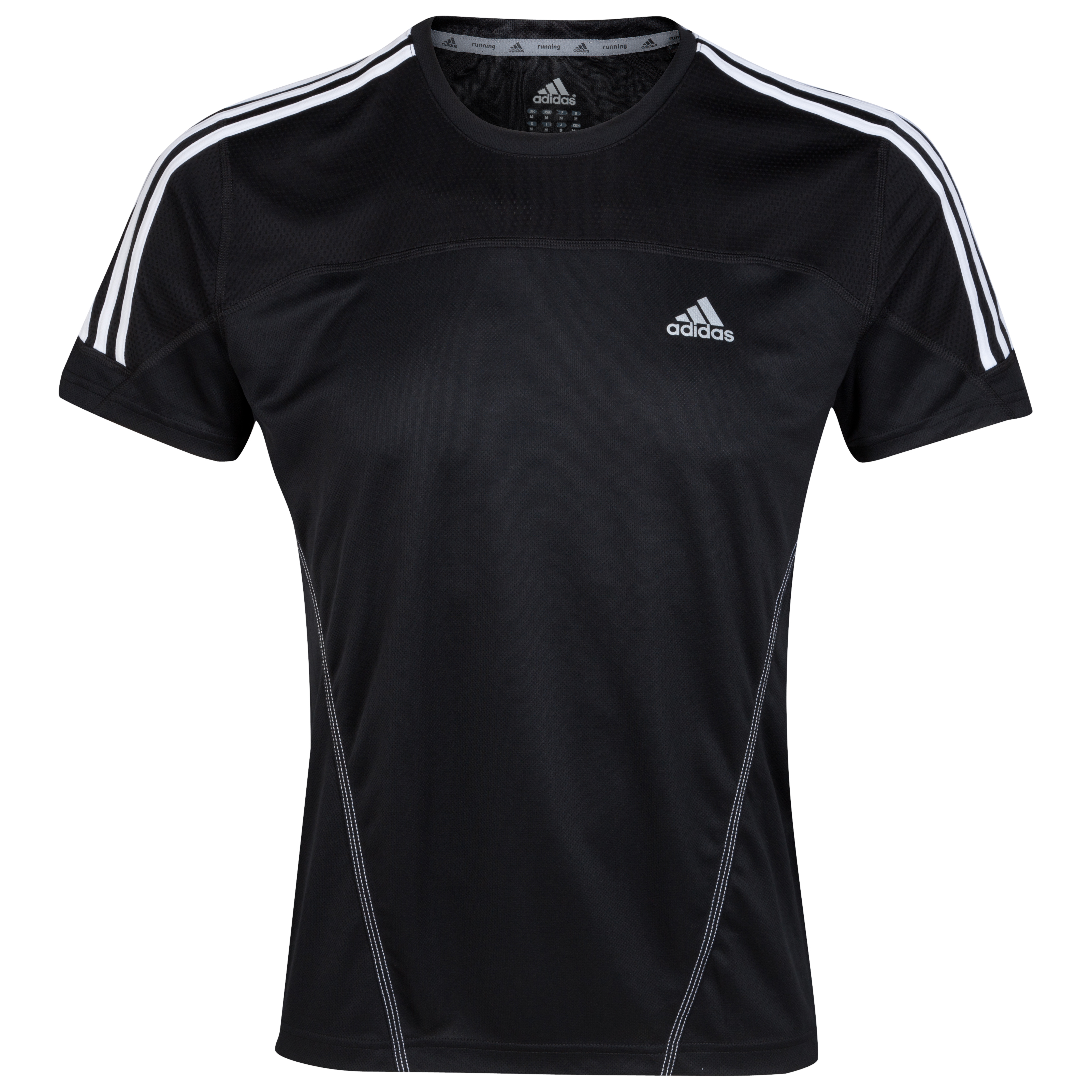 Adidas Response DS T-Shirt - Black/White