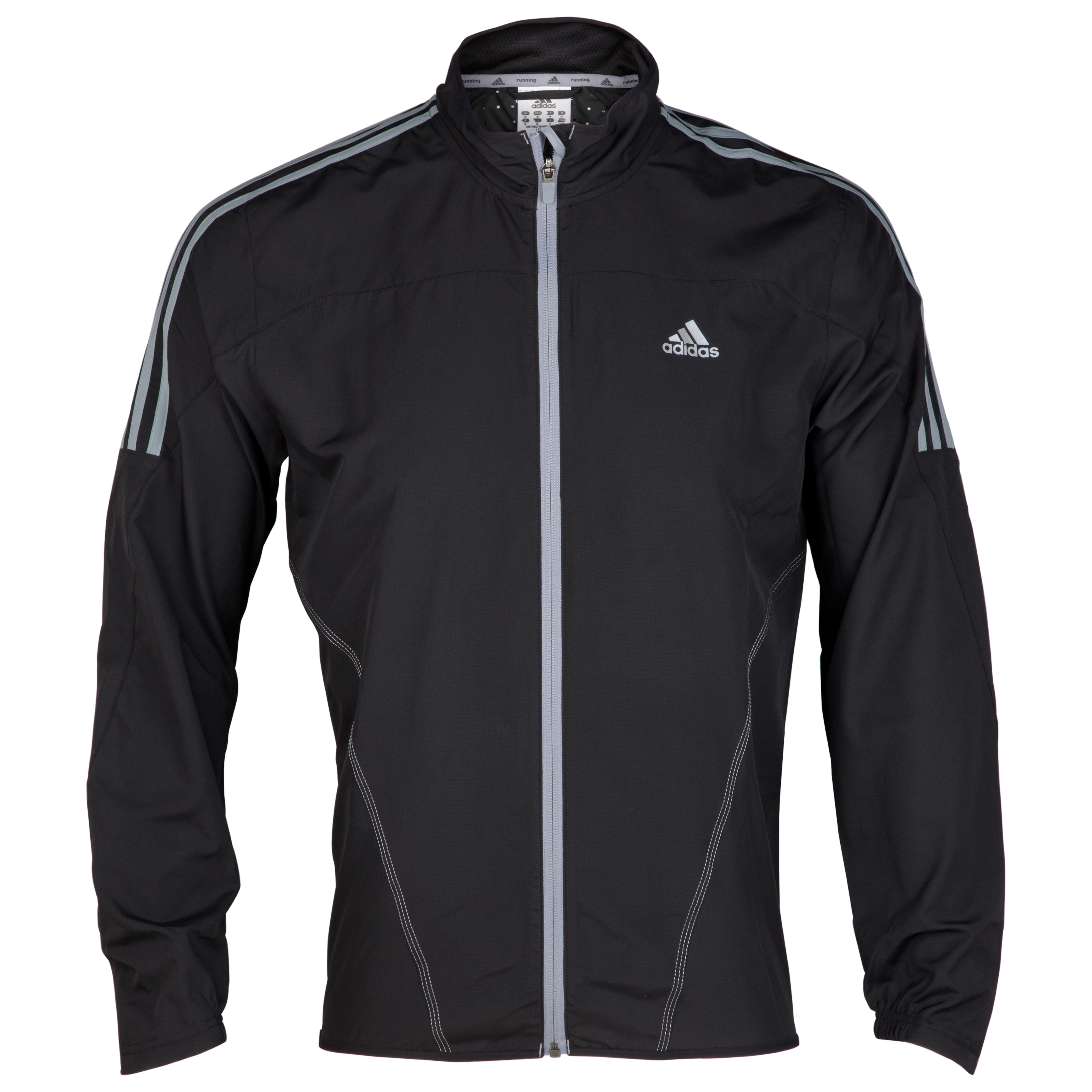 Adidas Response DS Wind Jacket - Black/Tech Grey