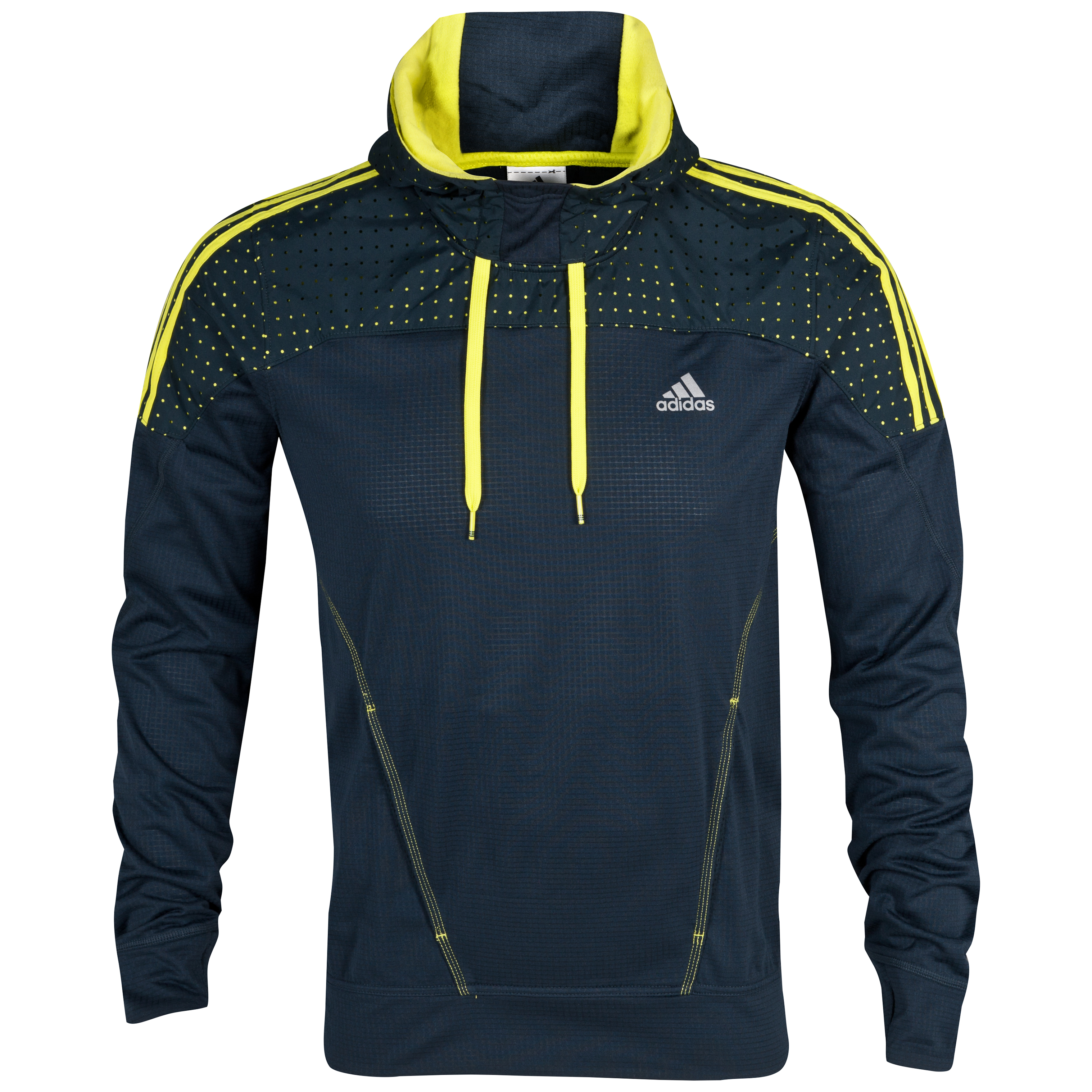 Adidas Response Icon Hoodie - Tech Onix/Lab Lime
