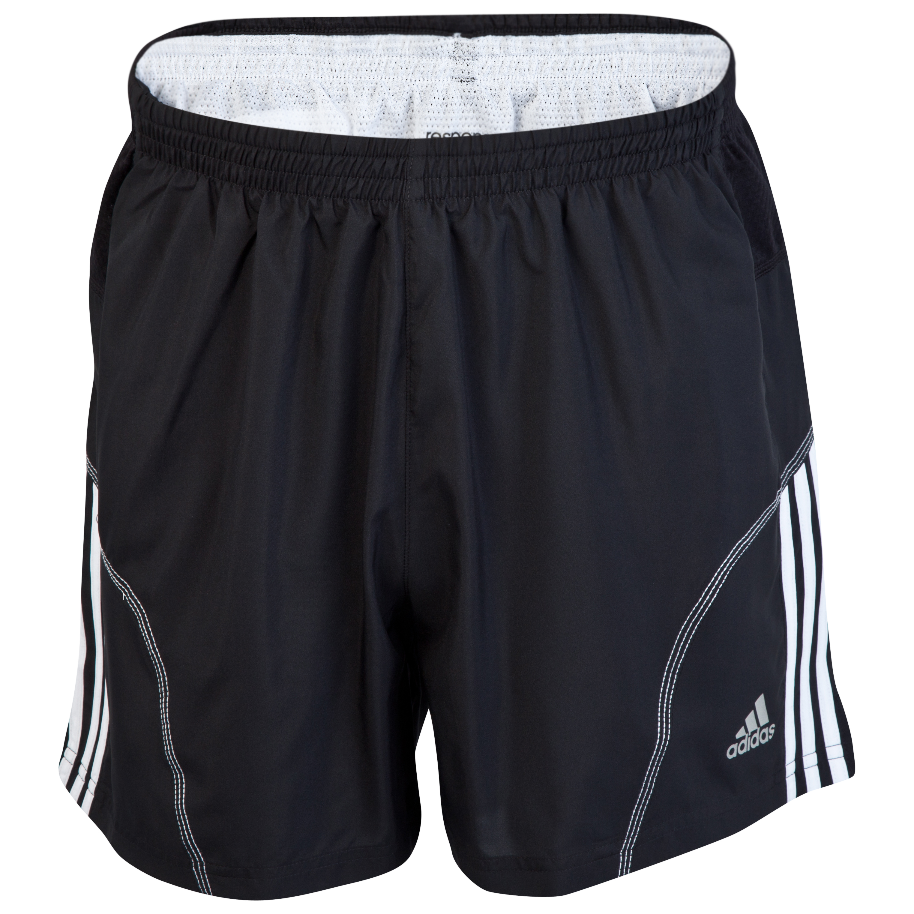 Adidas Response DS 5 Inch Shorts - Black/White