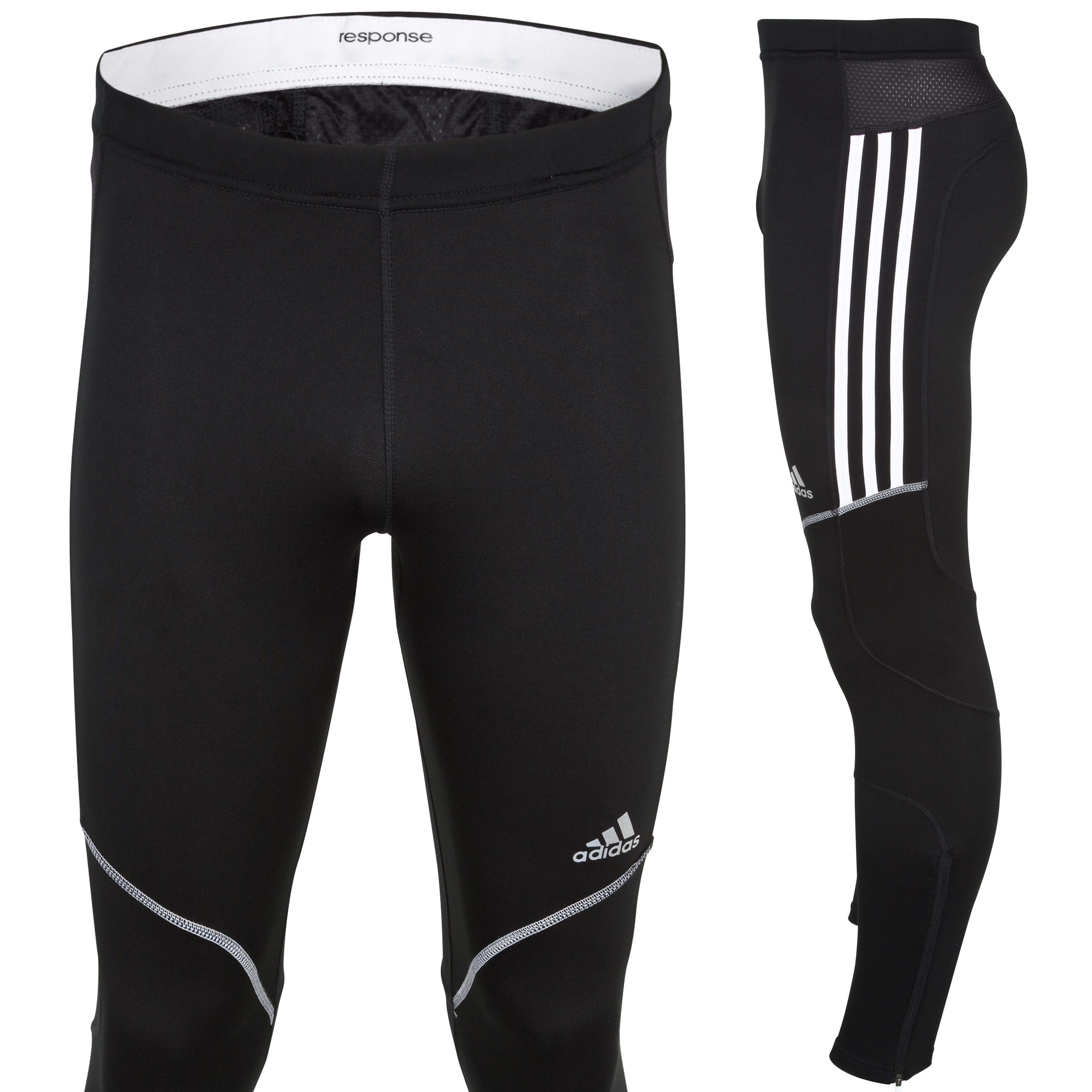Adidas Response DS Long Tights - Black/White