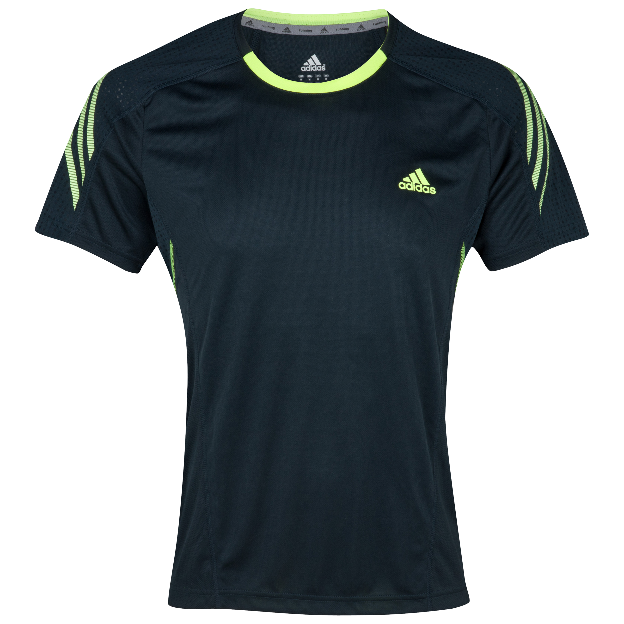 Adidas Supernova T-Shirt - Tech Onix/Electricity