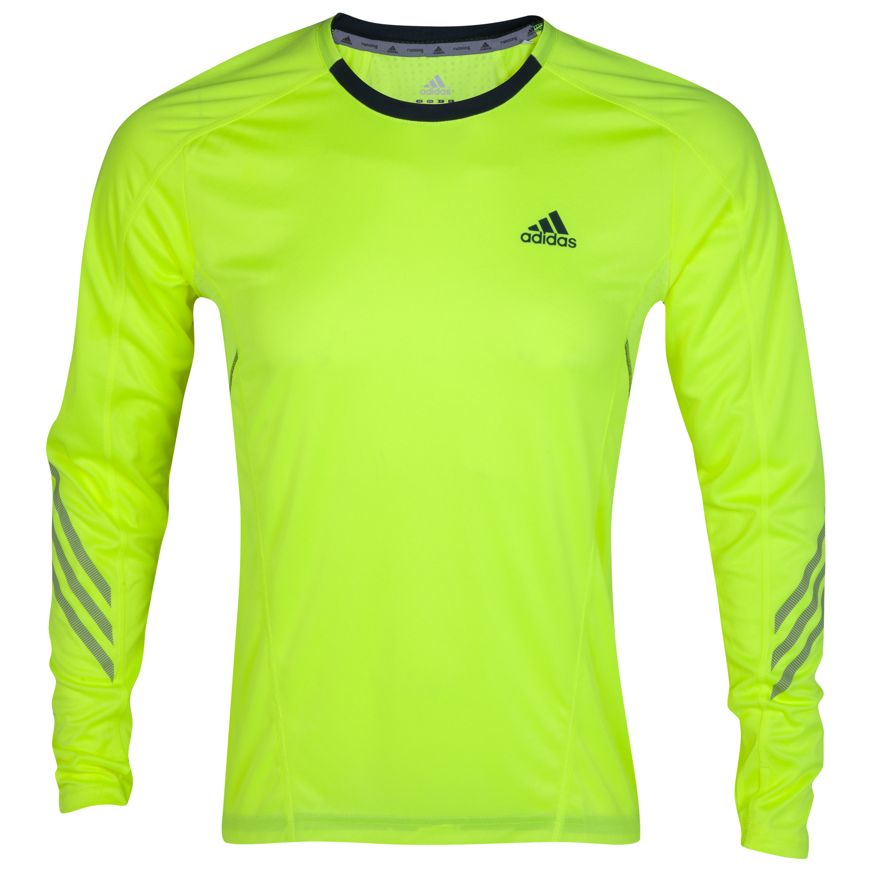 Adidas Supernova T-Shirt - Long Sleeve - Electricity