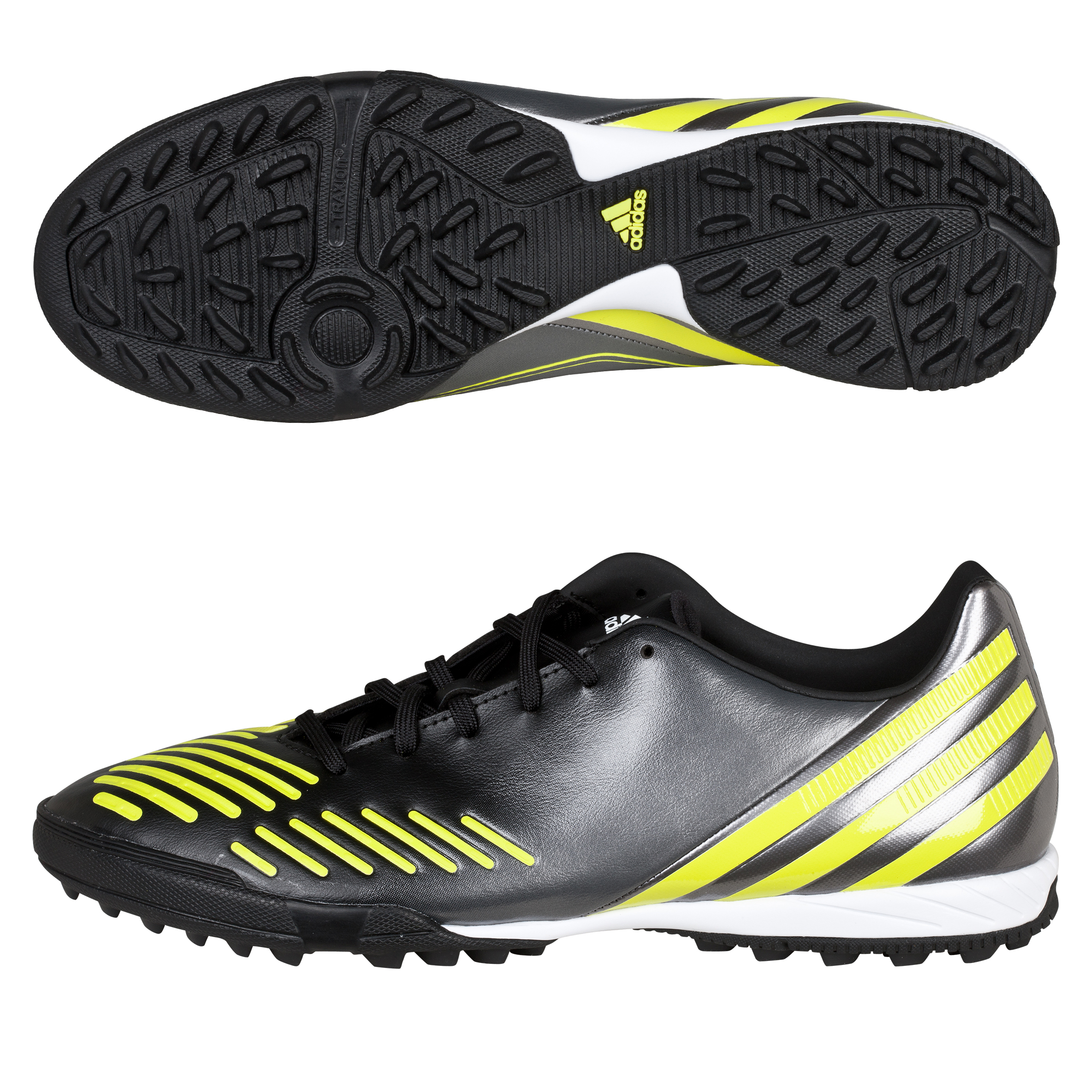 Adidas Predator Absolado LZ TRX Astro Turf Trainers - Black/Lab Lime/Neo Iron Met
