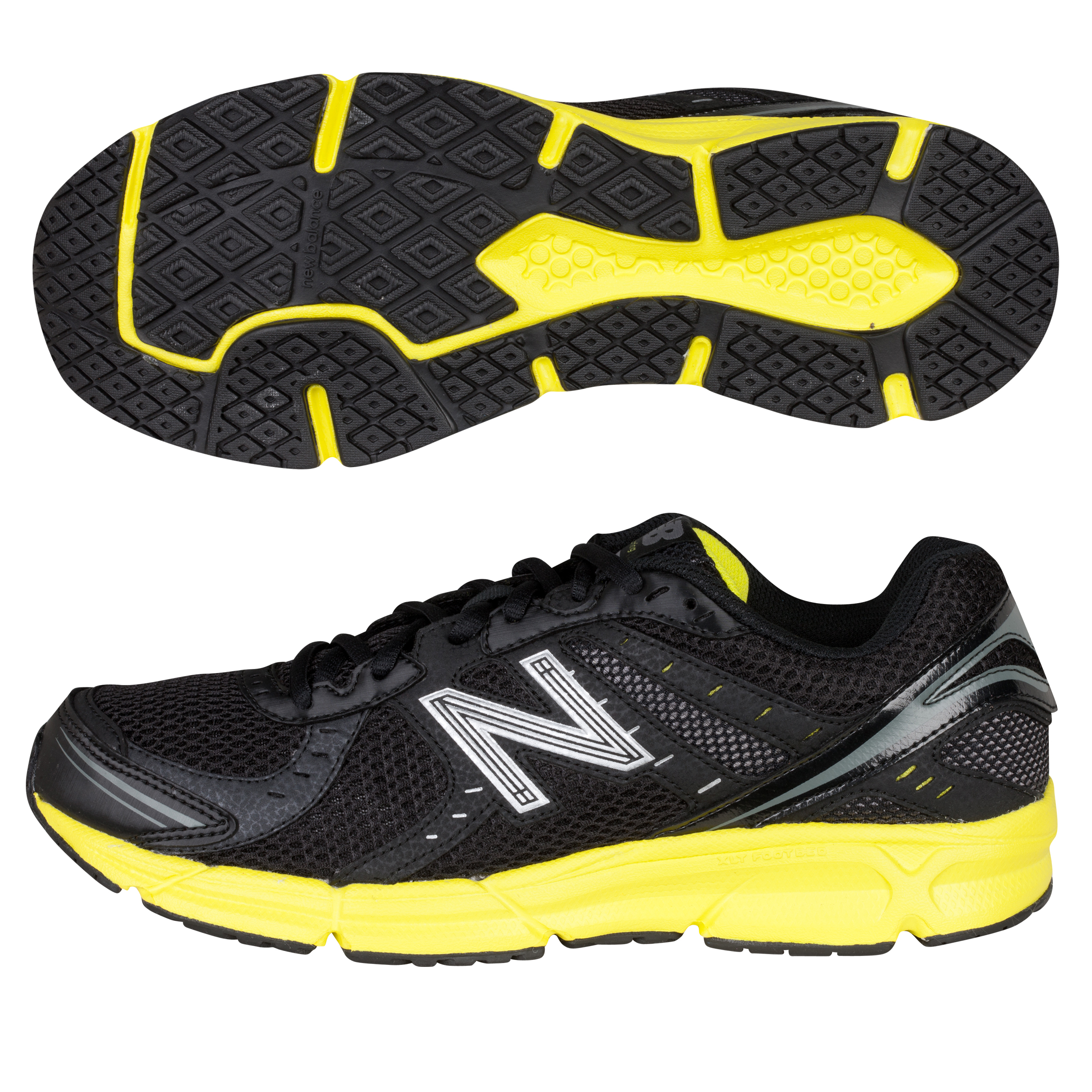 New Balance 470 Running Trainers - Black/Yellow