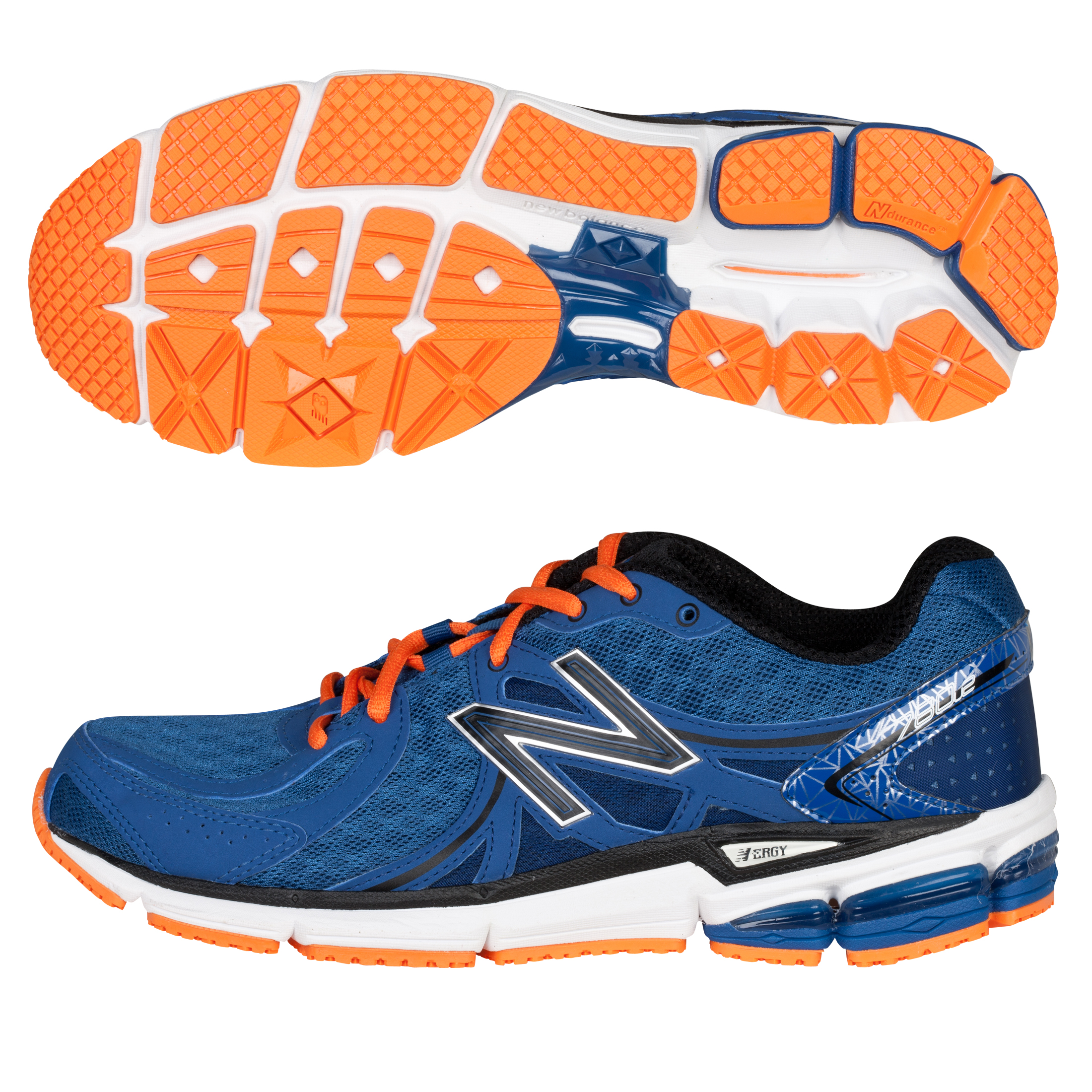 New Balance 780V2 Trainers - Blue/Orange