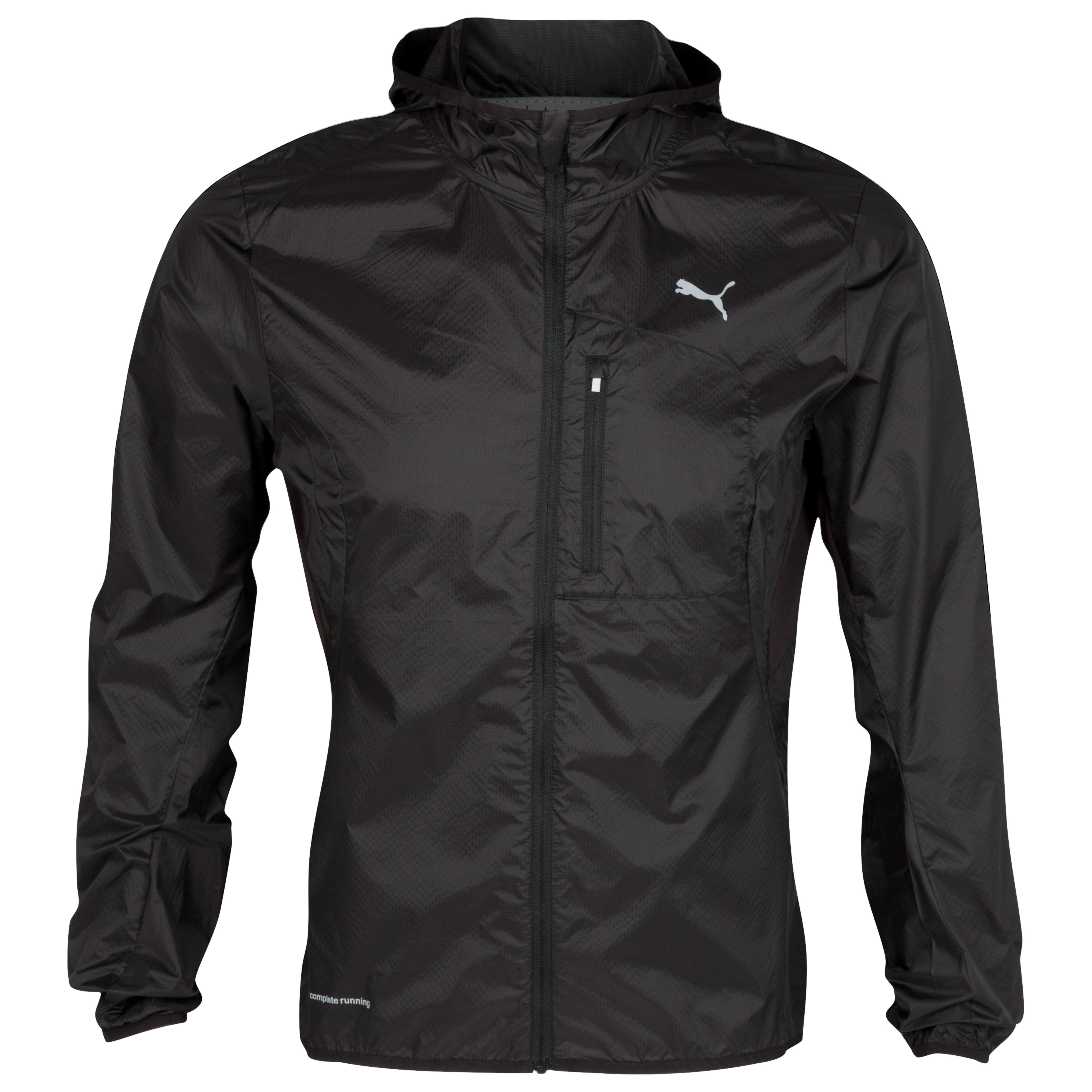 Puma Essentials Hooded Lightweight Jacket - Black