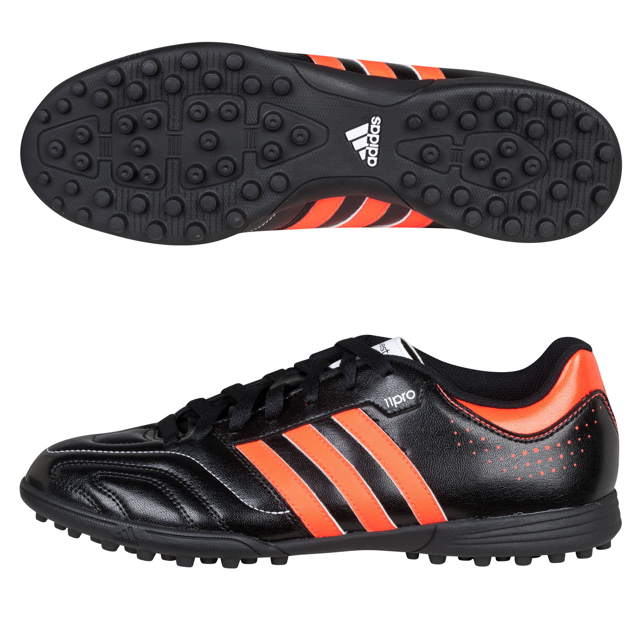 Adidas 11Questra TRX Astro Turf Trainers - Black/Infrared/White