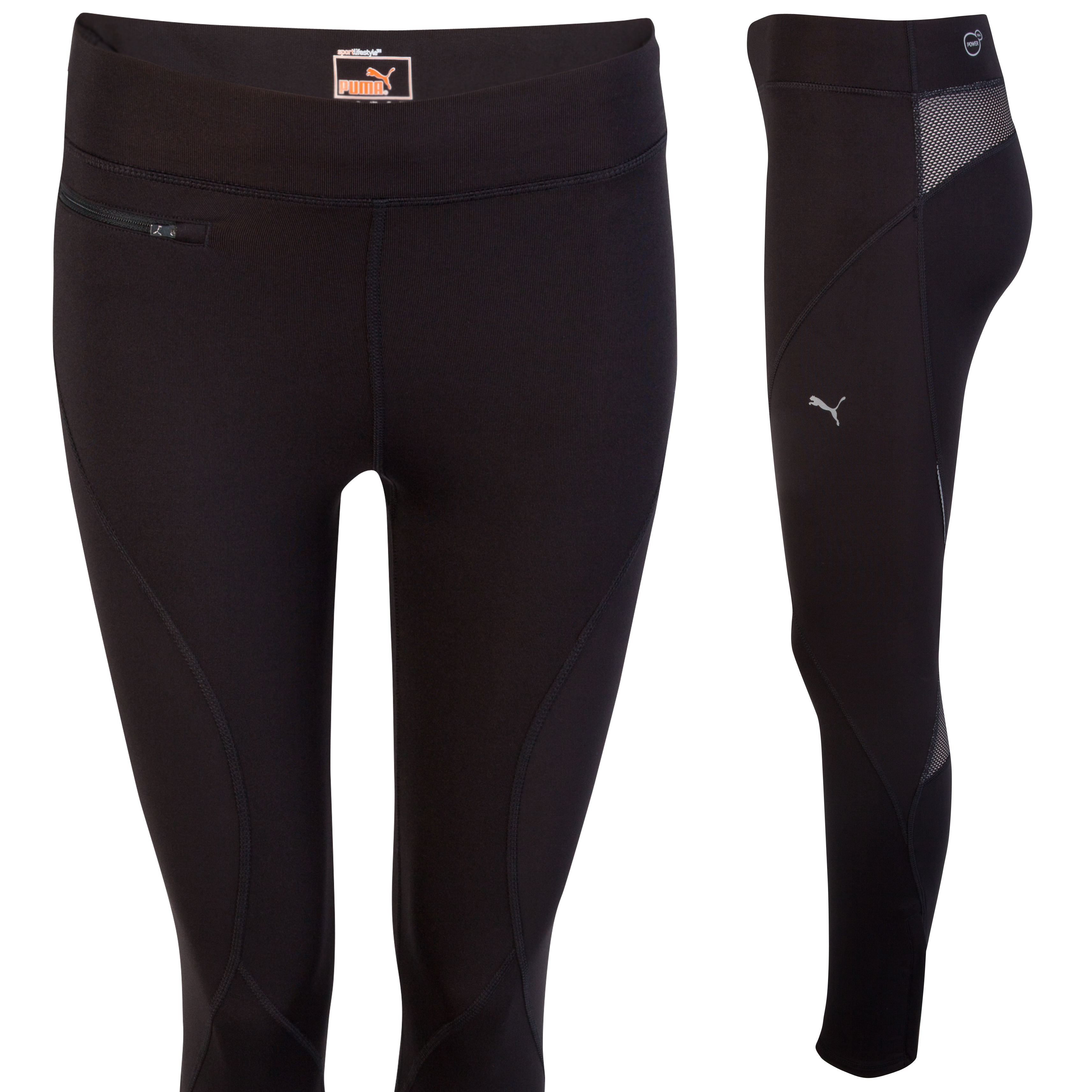 Puma Run Long Tights - Black - Womens