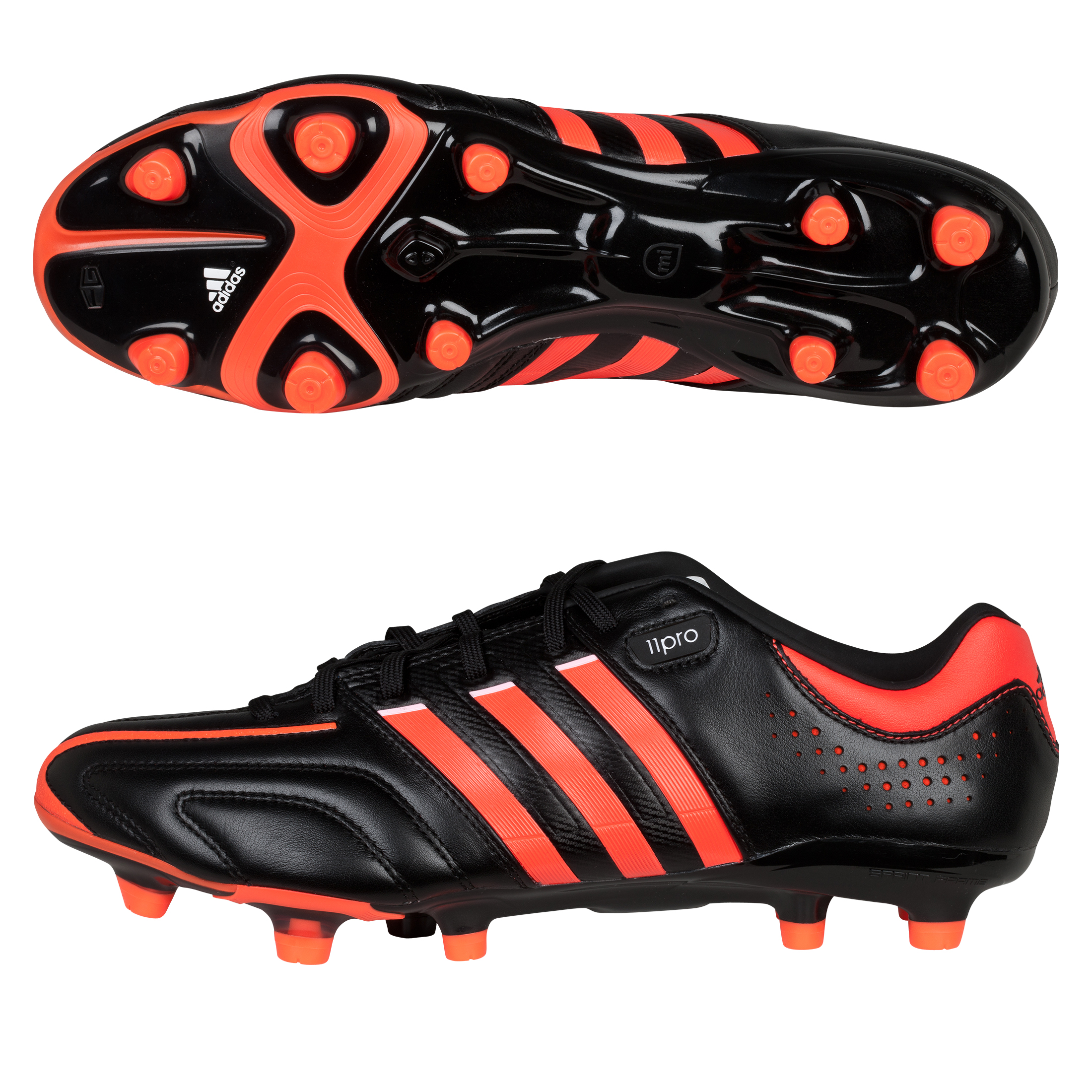 Adidas Adipure 11Pro TRX Football Boots - Black/Infrared/Running White