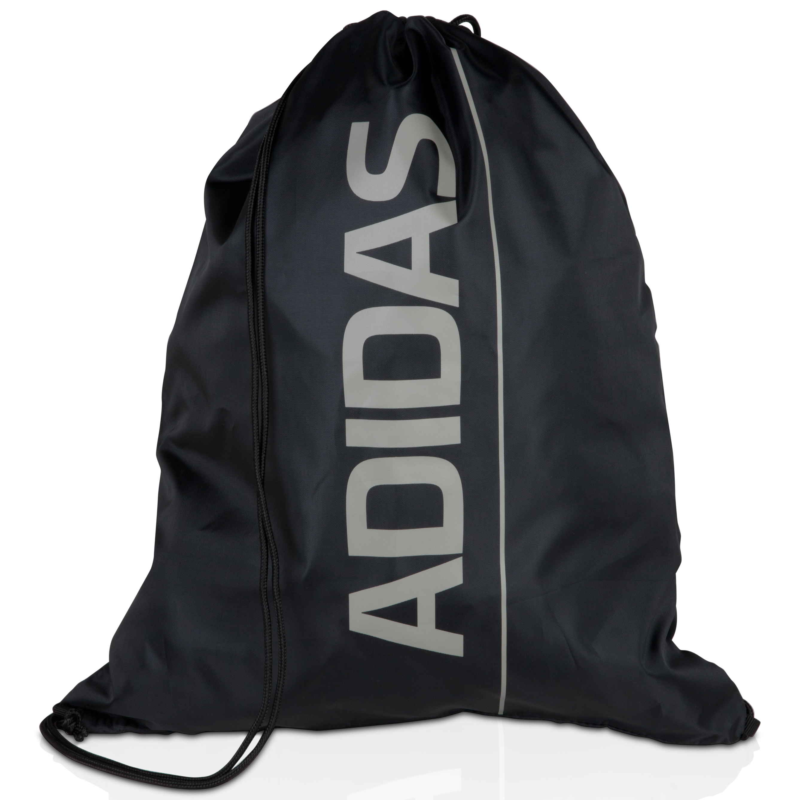 adidas Linear Essentials Gym Sack - Black/Grey Feather