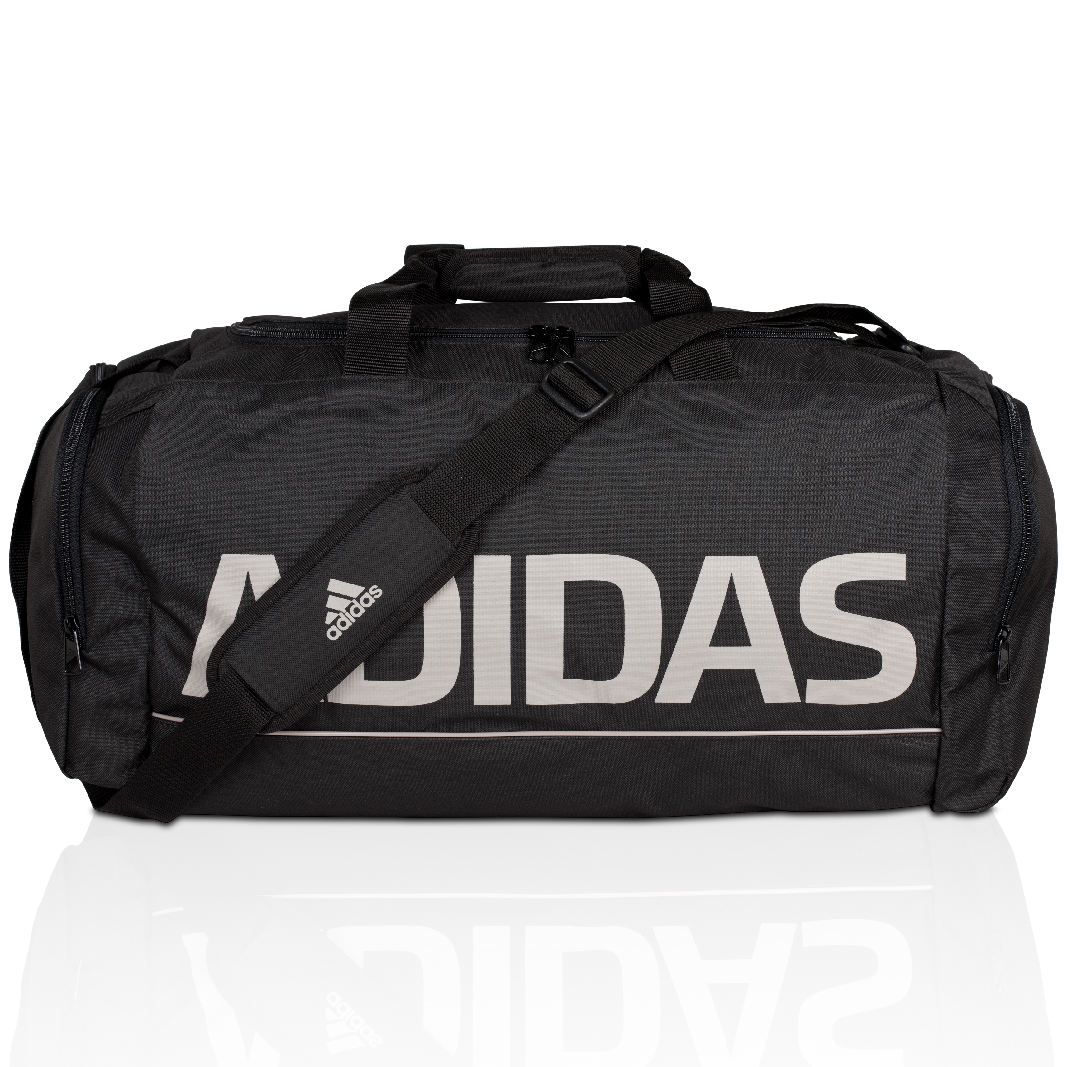 adidas Linear Essentials Holdall - Black
