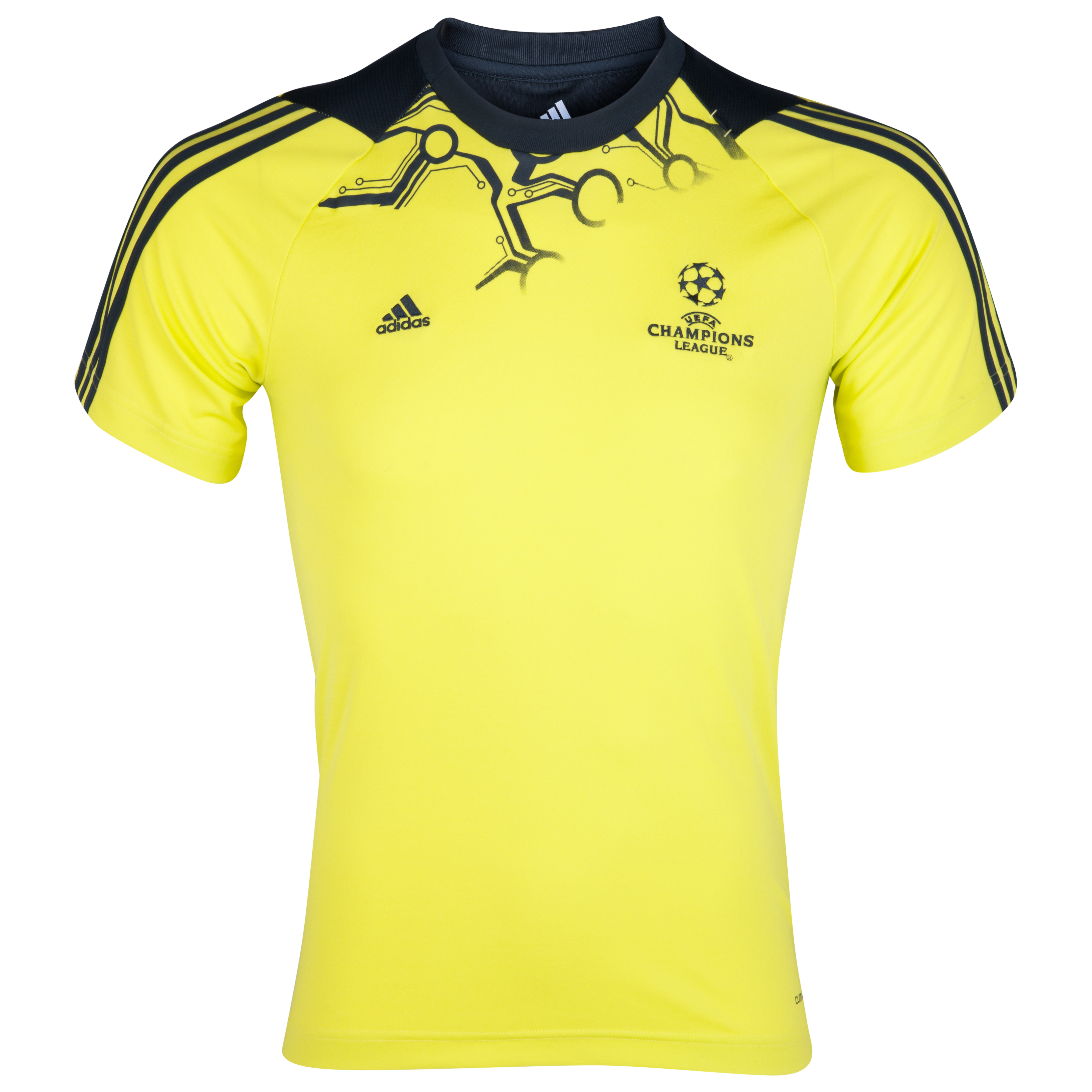 adidas Predator UEFA Champions League Tee - Lab Lime/Tech Onix