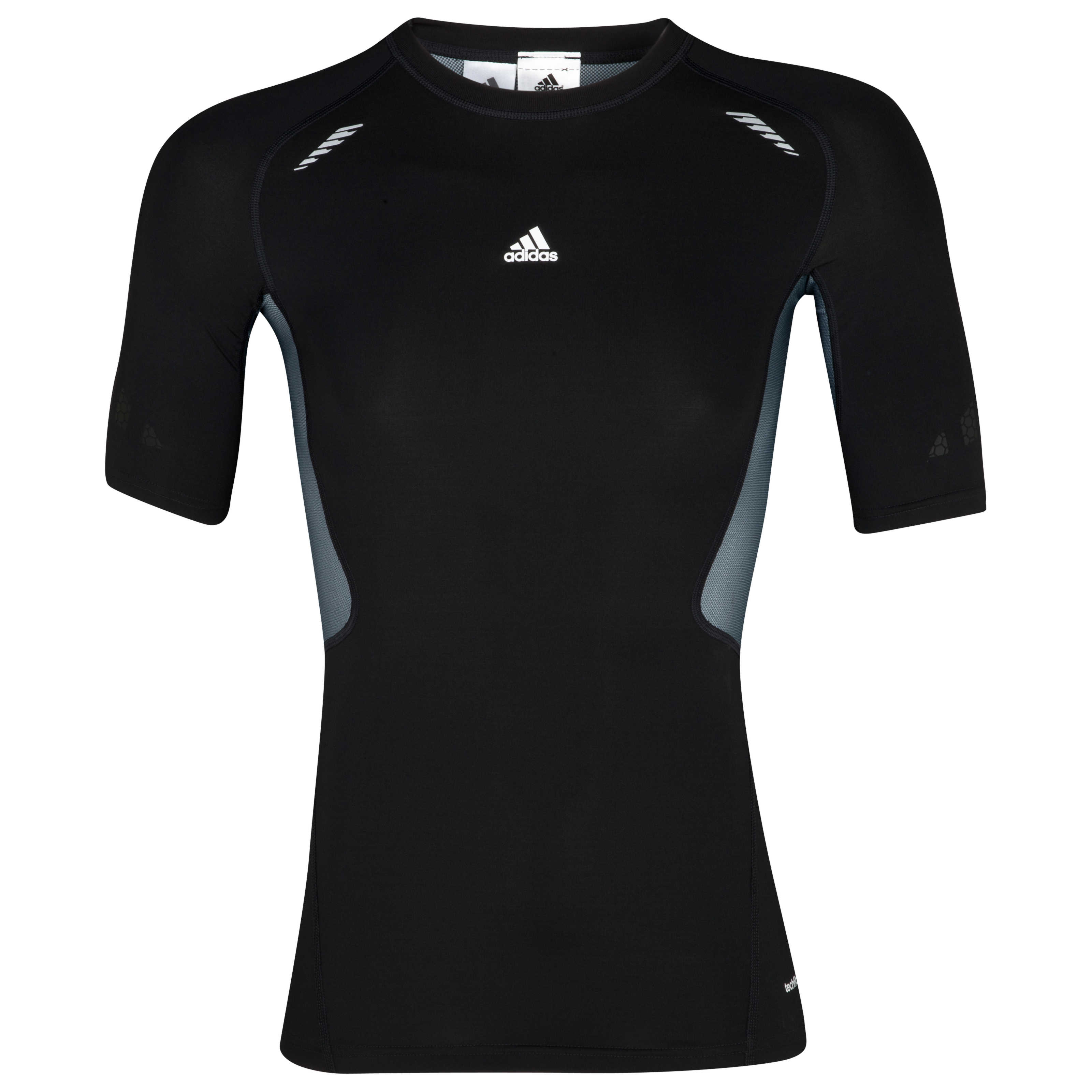 adidas TechFit Preperation Baselayer Top - Short Sleeve - Black