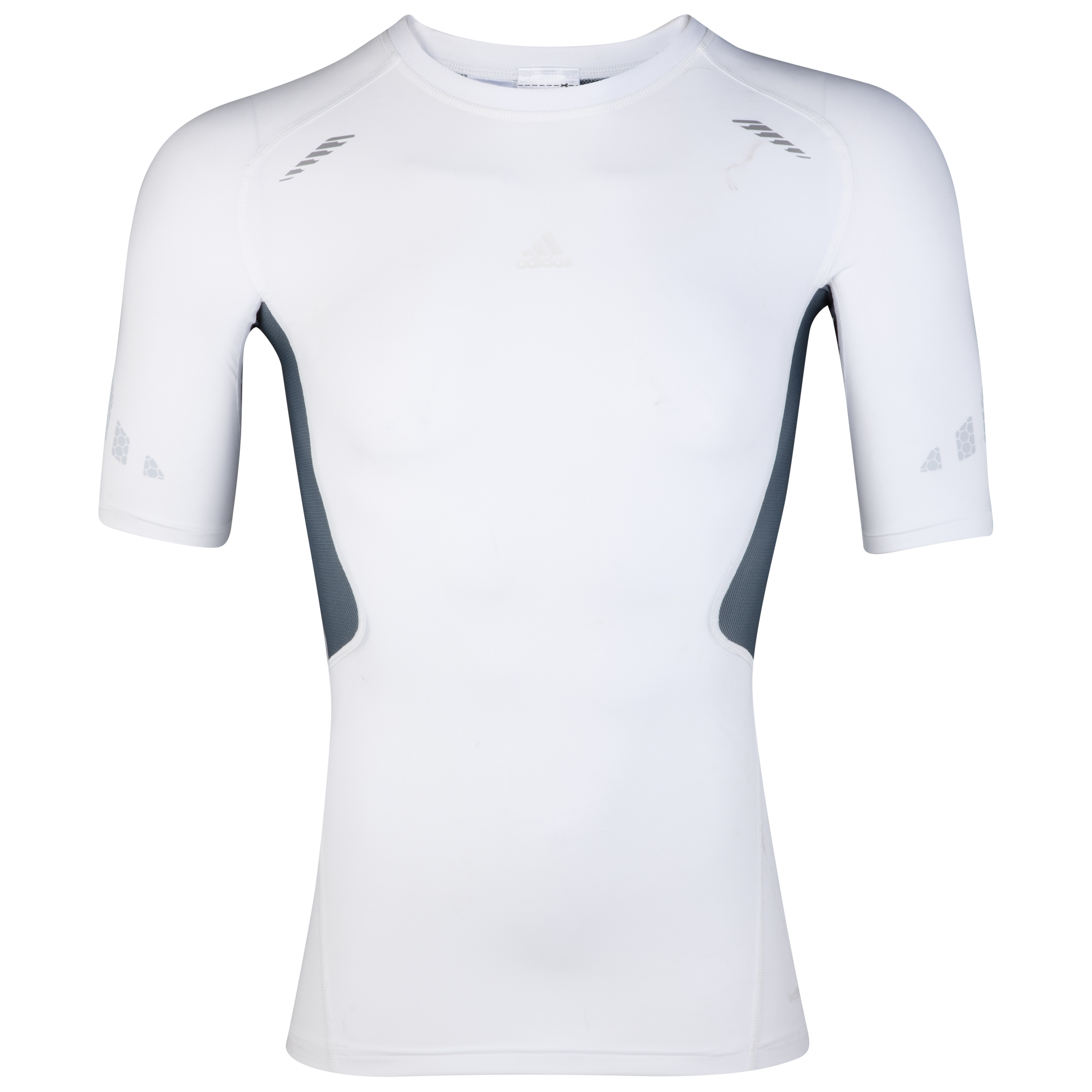 adidas TechFit Preperation Baselayer Top - Short Sleeve - White