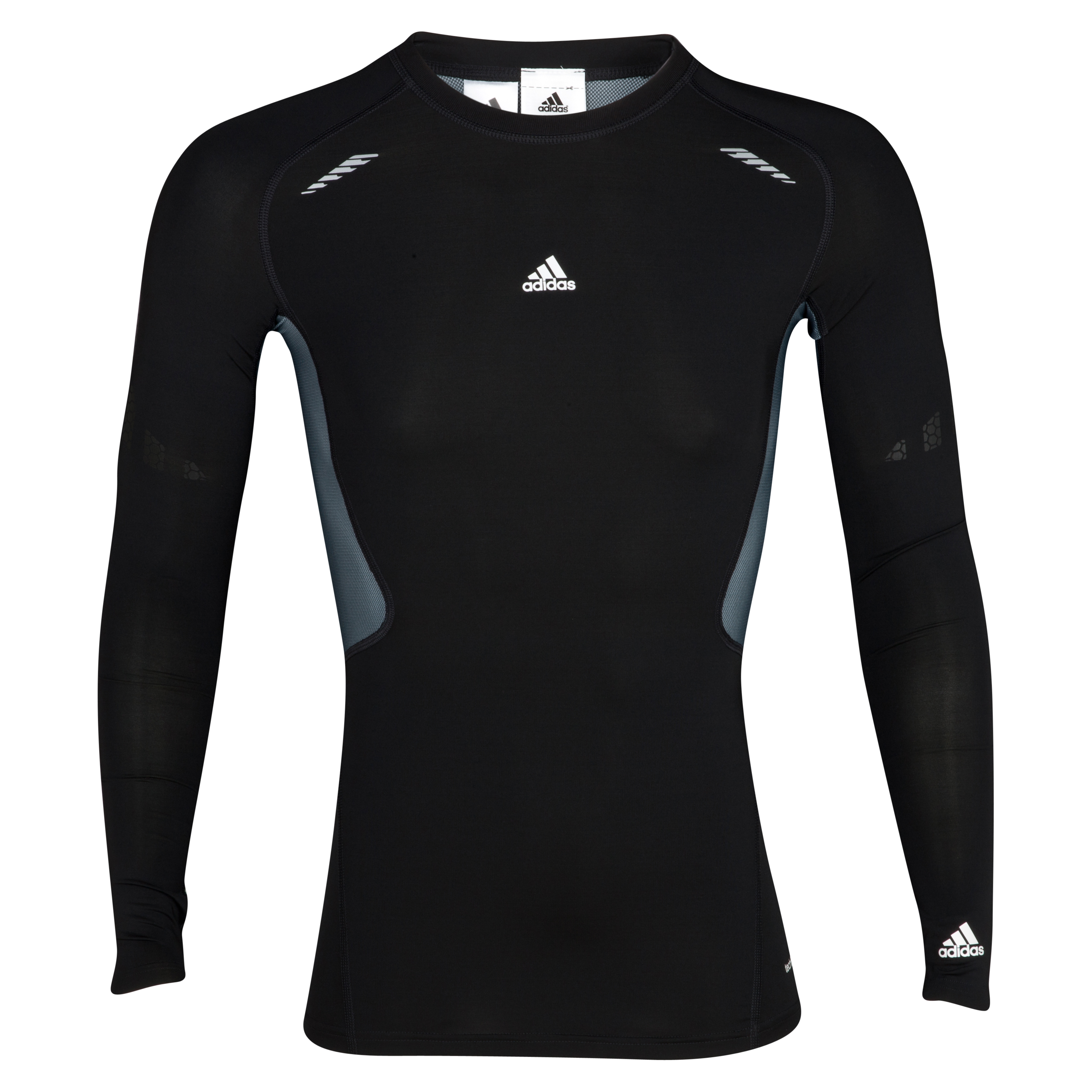 Camiseta interior TechFit Preperation adidas - Manga larga - Negro