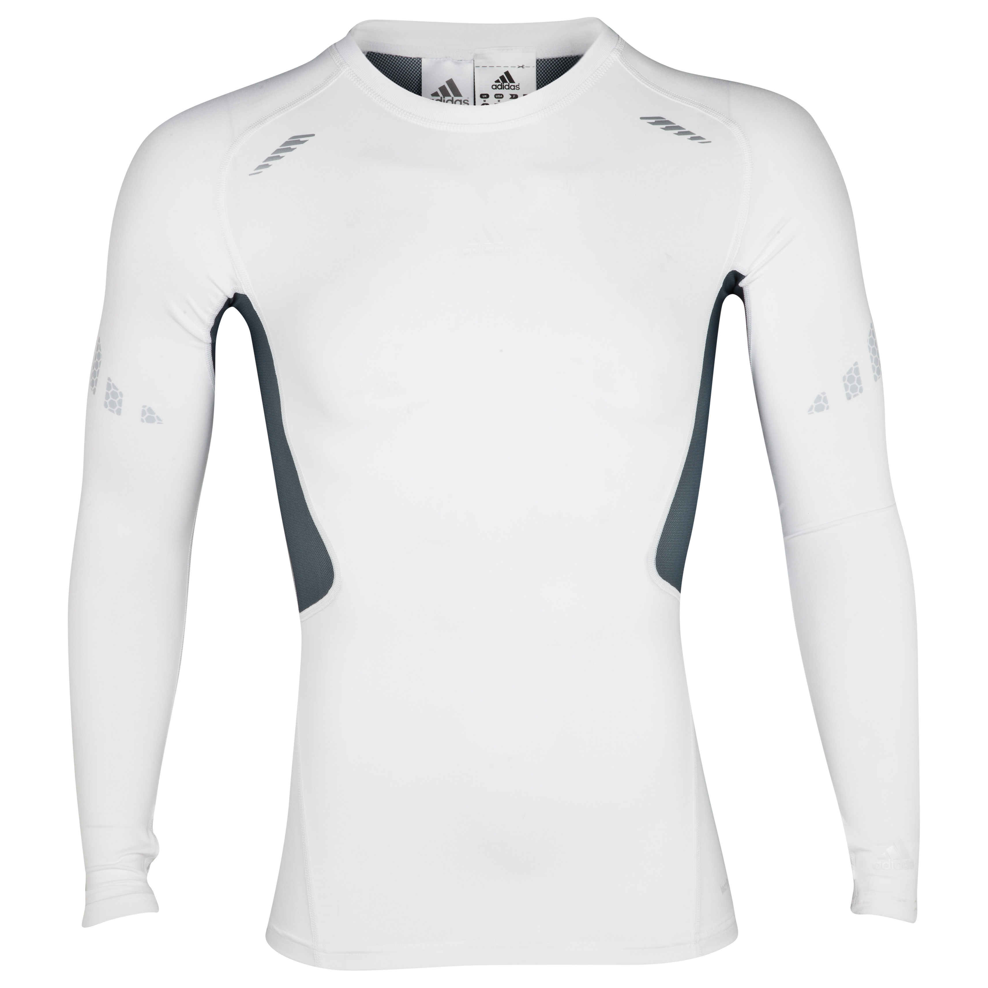 Adidas TechFit Preperation Top - Long Sleeve - White