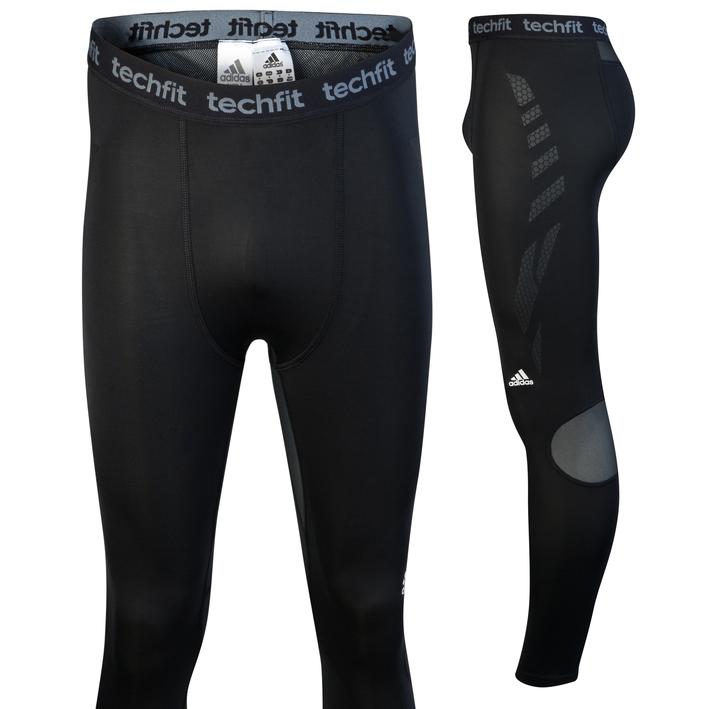 Adidas TechFit Preperation Tights - Black