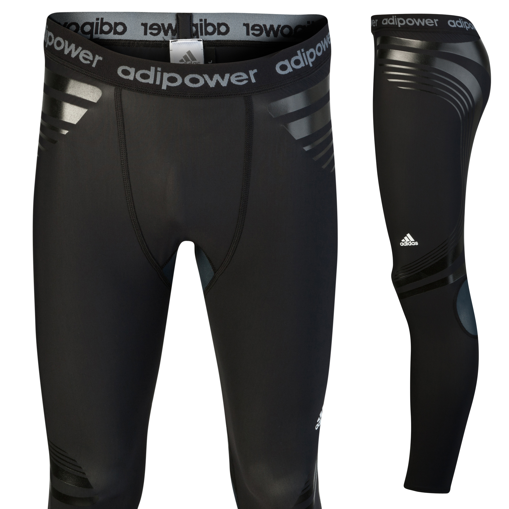 Adidas TechFit PowerWeb Tights - Black