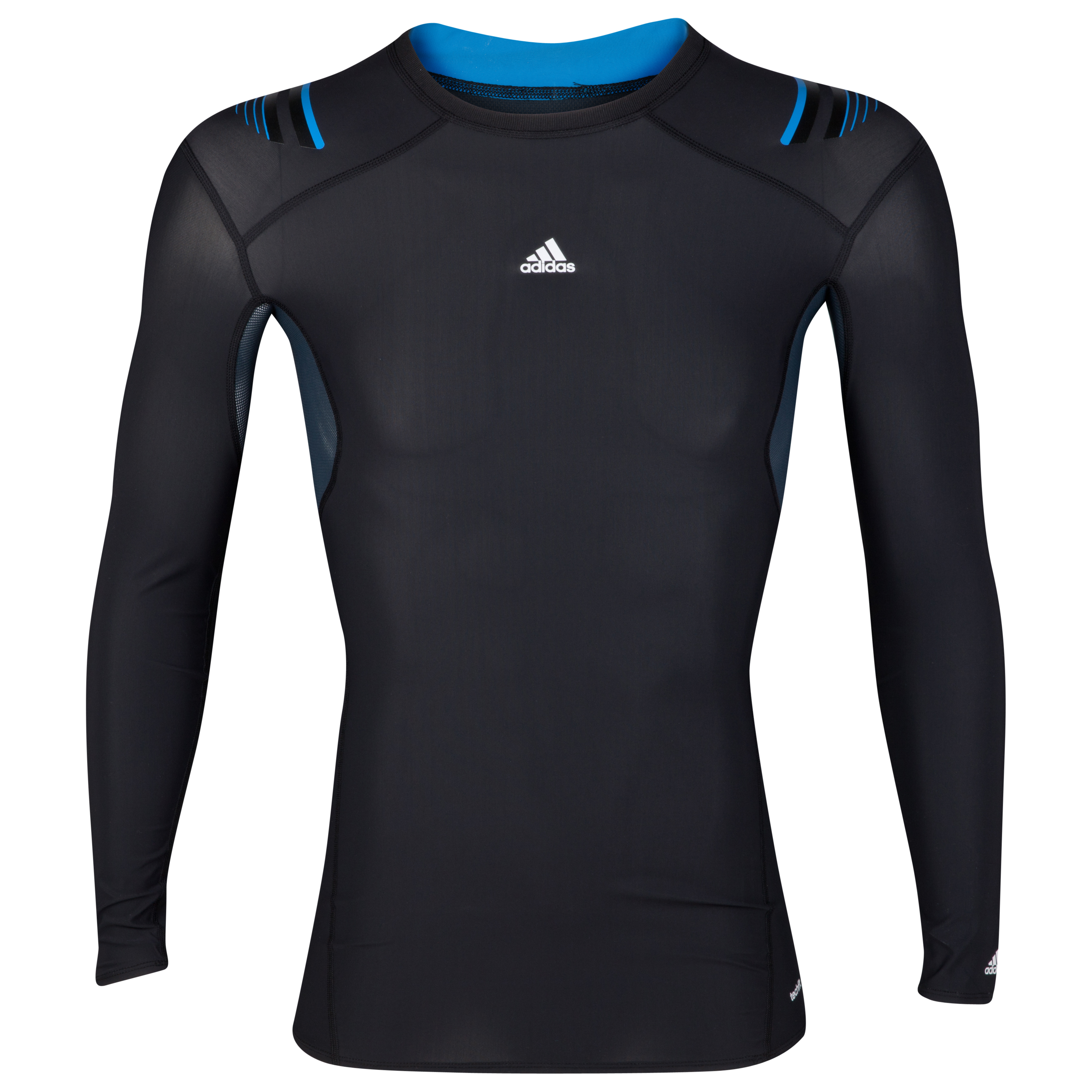 adidas TechFit PowerWeb Baselayer Top - Long Sleeve - Black