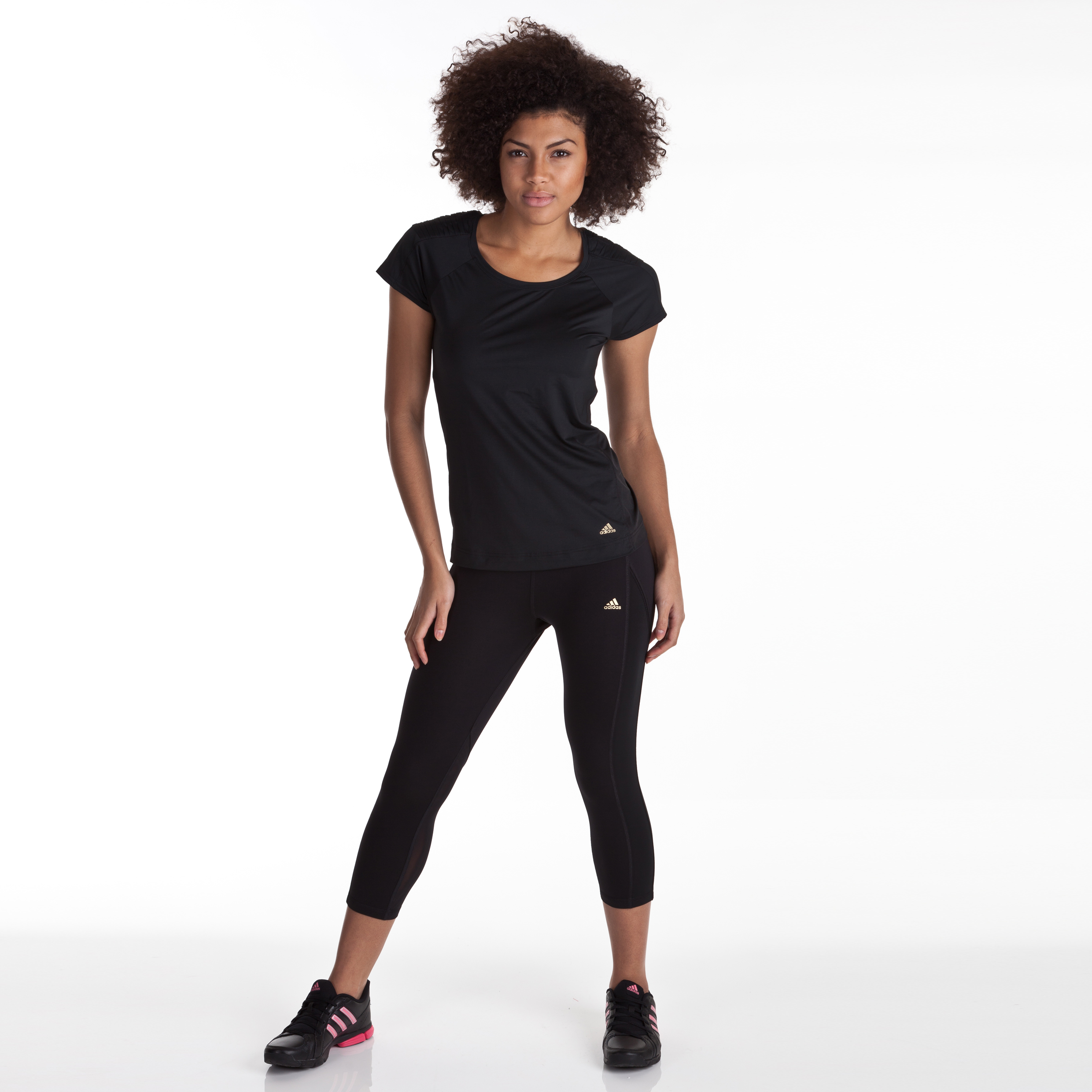 Adidas Studio Power 3/4 Tight - Black - Women
