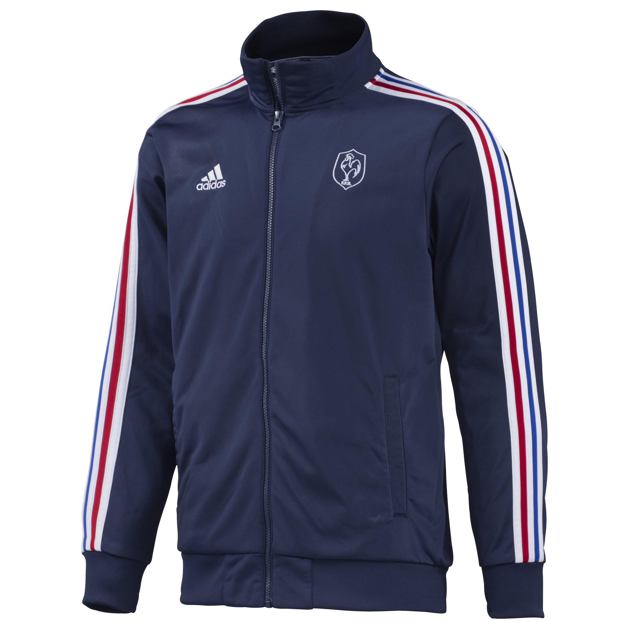 France Rugby Track Top - New Navy