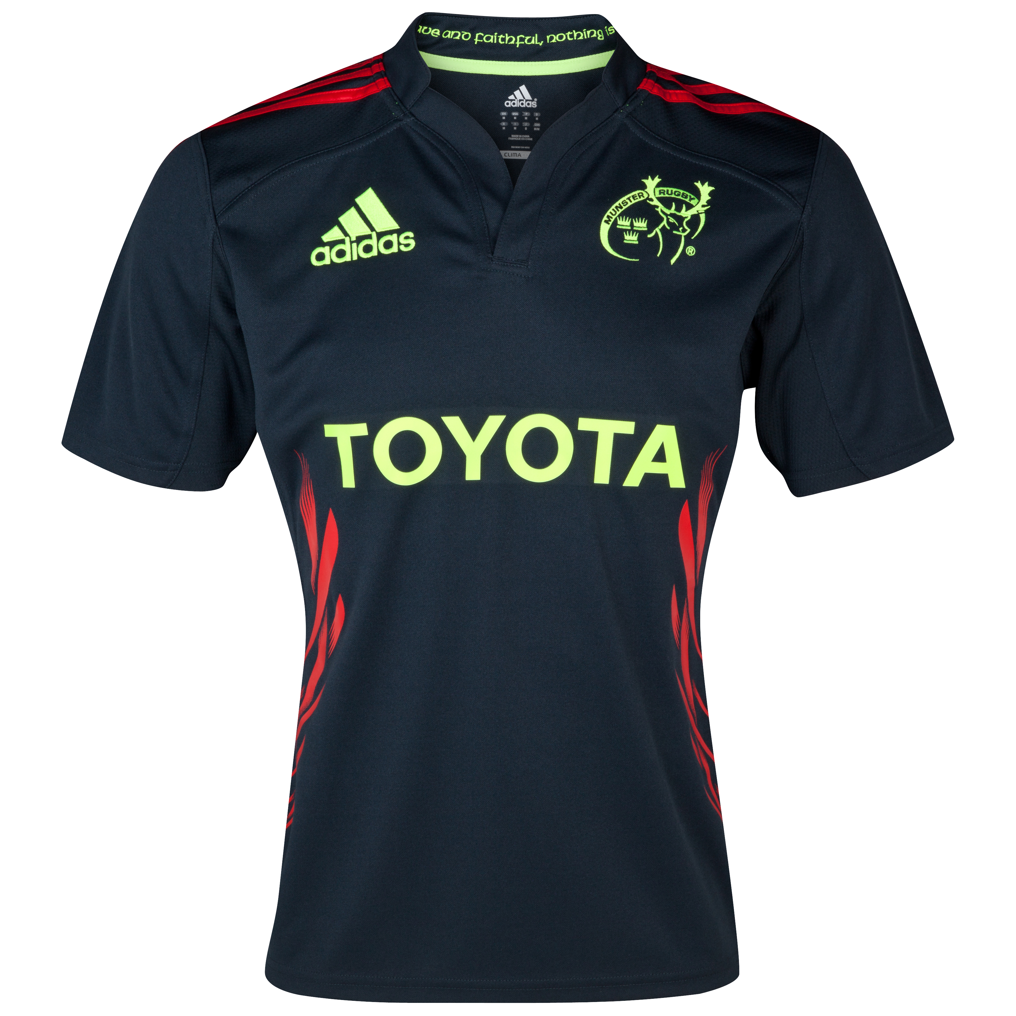 Munster Away Shirt 2012/13 - Tech Onix/Collegiate Red/Electricity