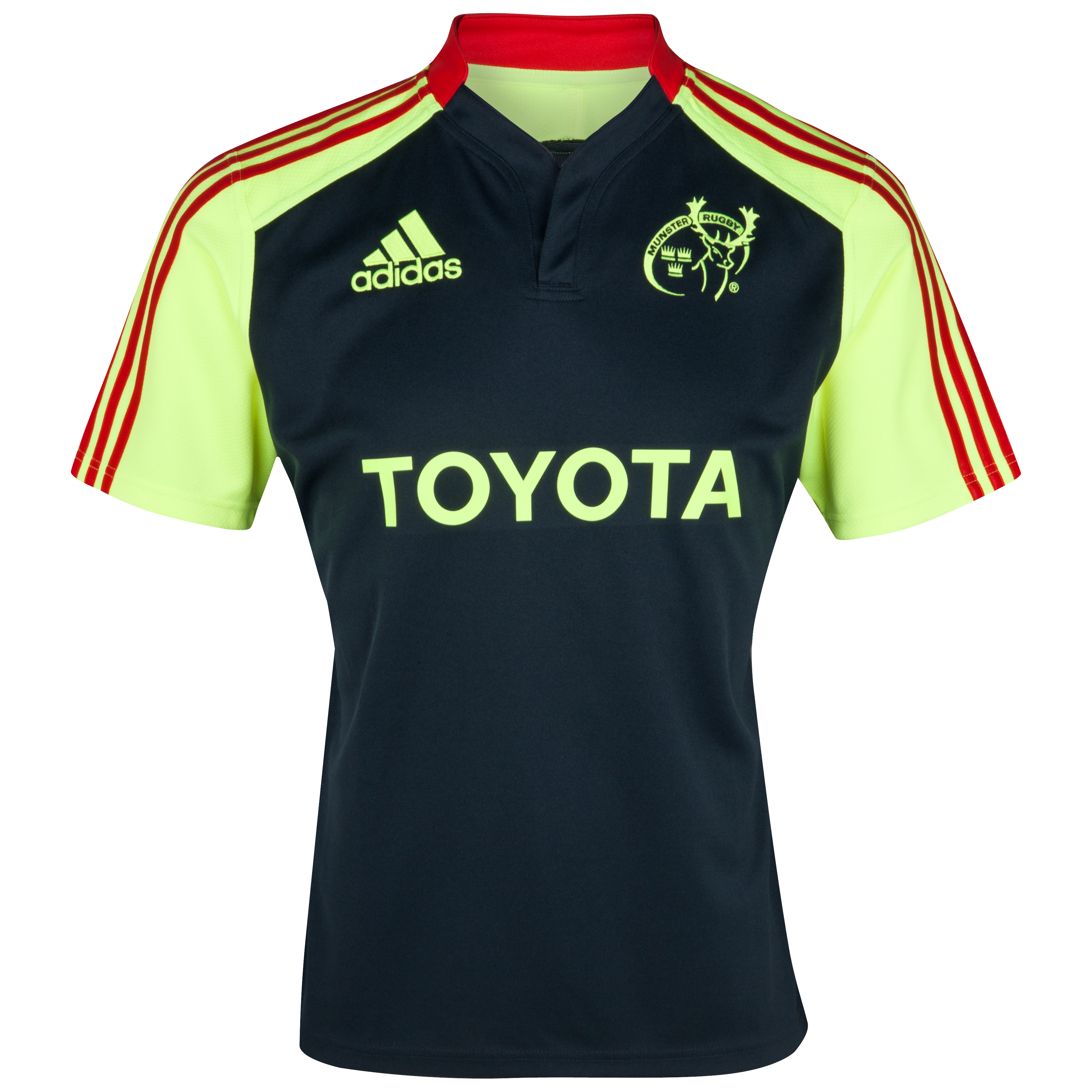 Munster Training Jersey - Tech Onix/Electricity/Collegiate Red