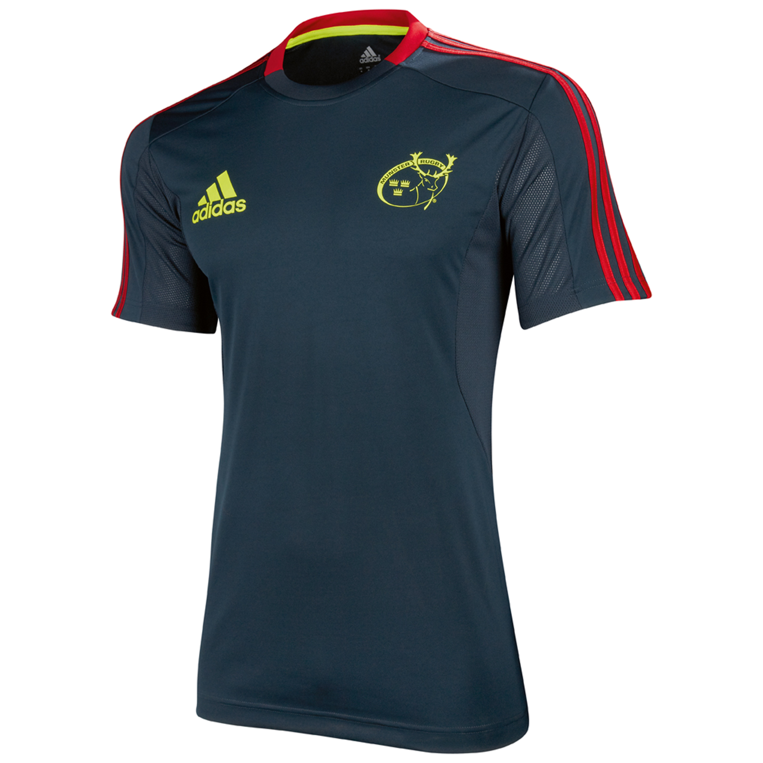 Munster Performance T-Shirt - Tech Onix/Collegiate Red